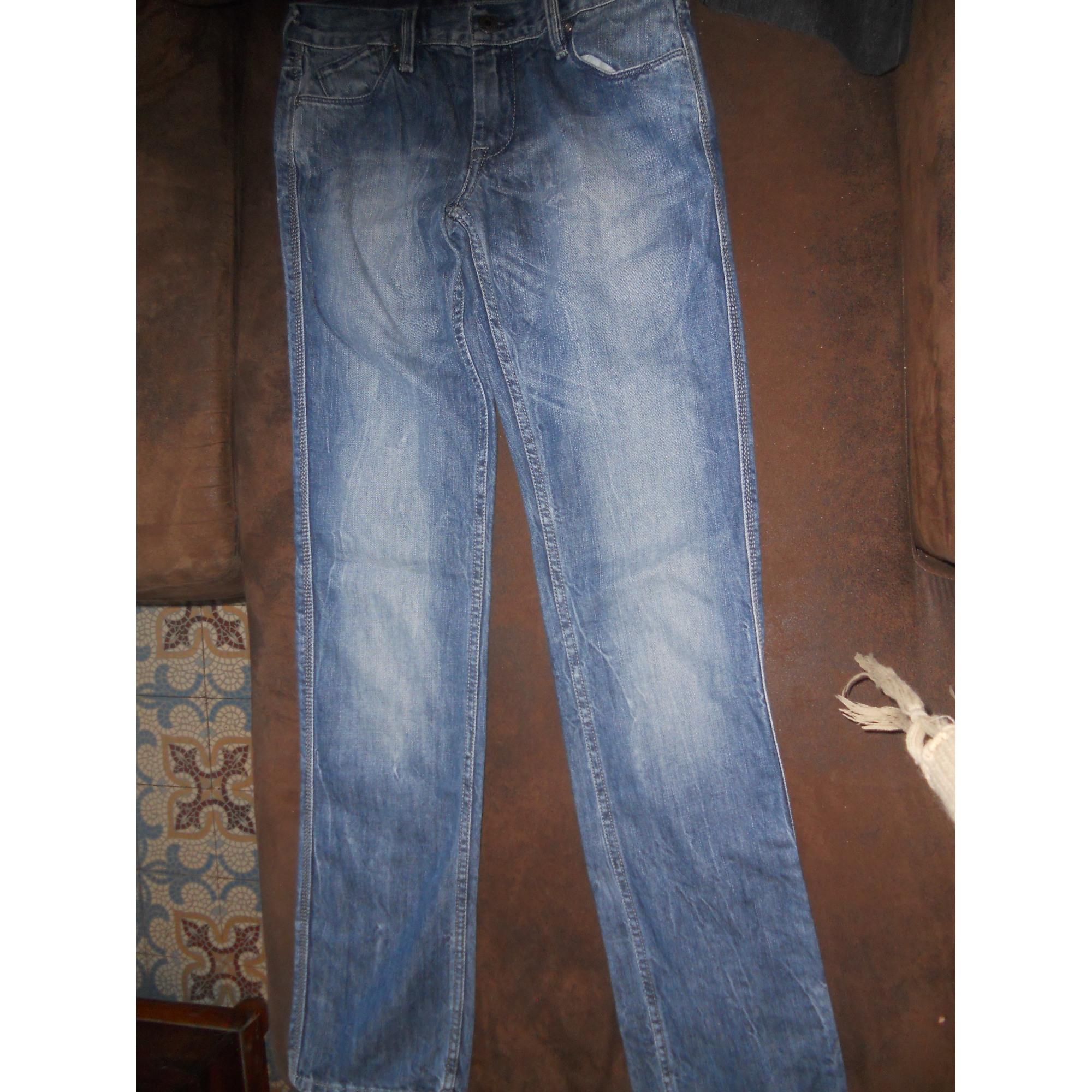 Pantalon LE TEMPS DES CERISES denim, jean bleu 11-12 ans