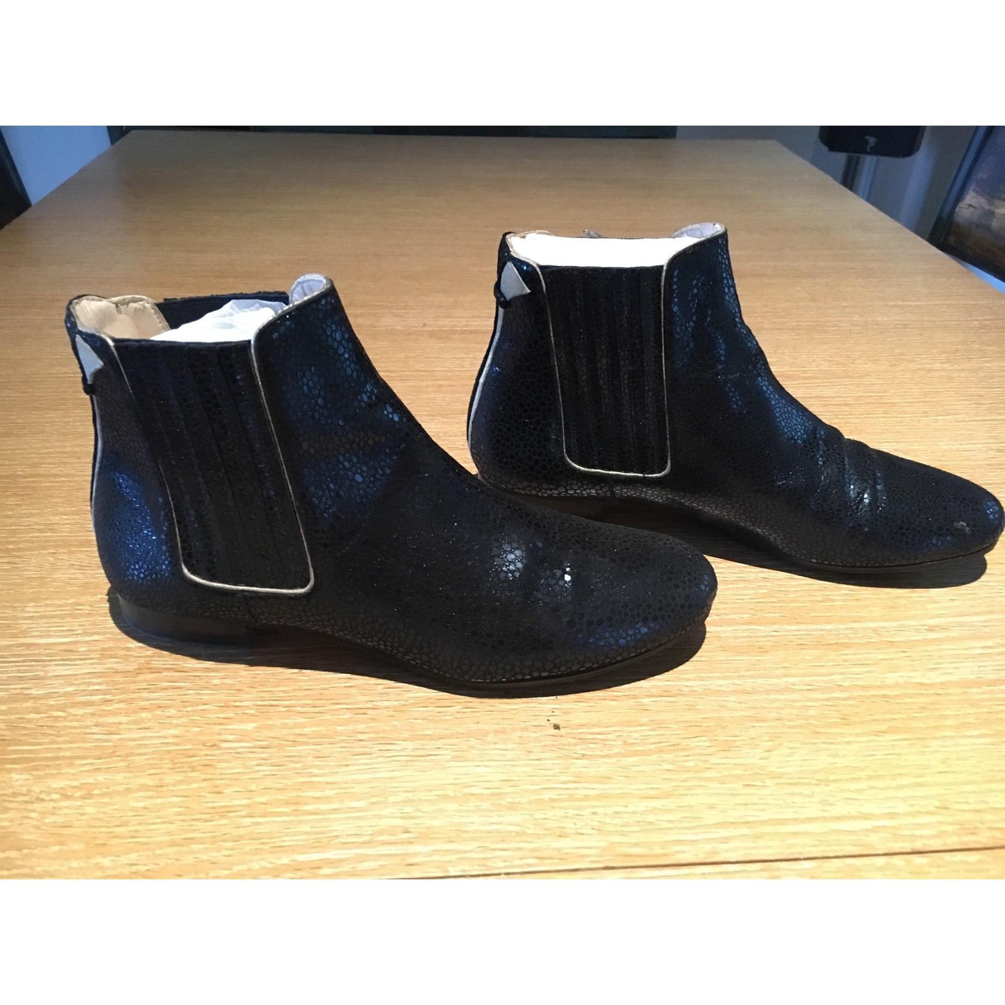 Boots 7383173 Blanchet Bleu Patricia Plates Low Bottinesamp; 39 nX0wOkPZN8