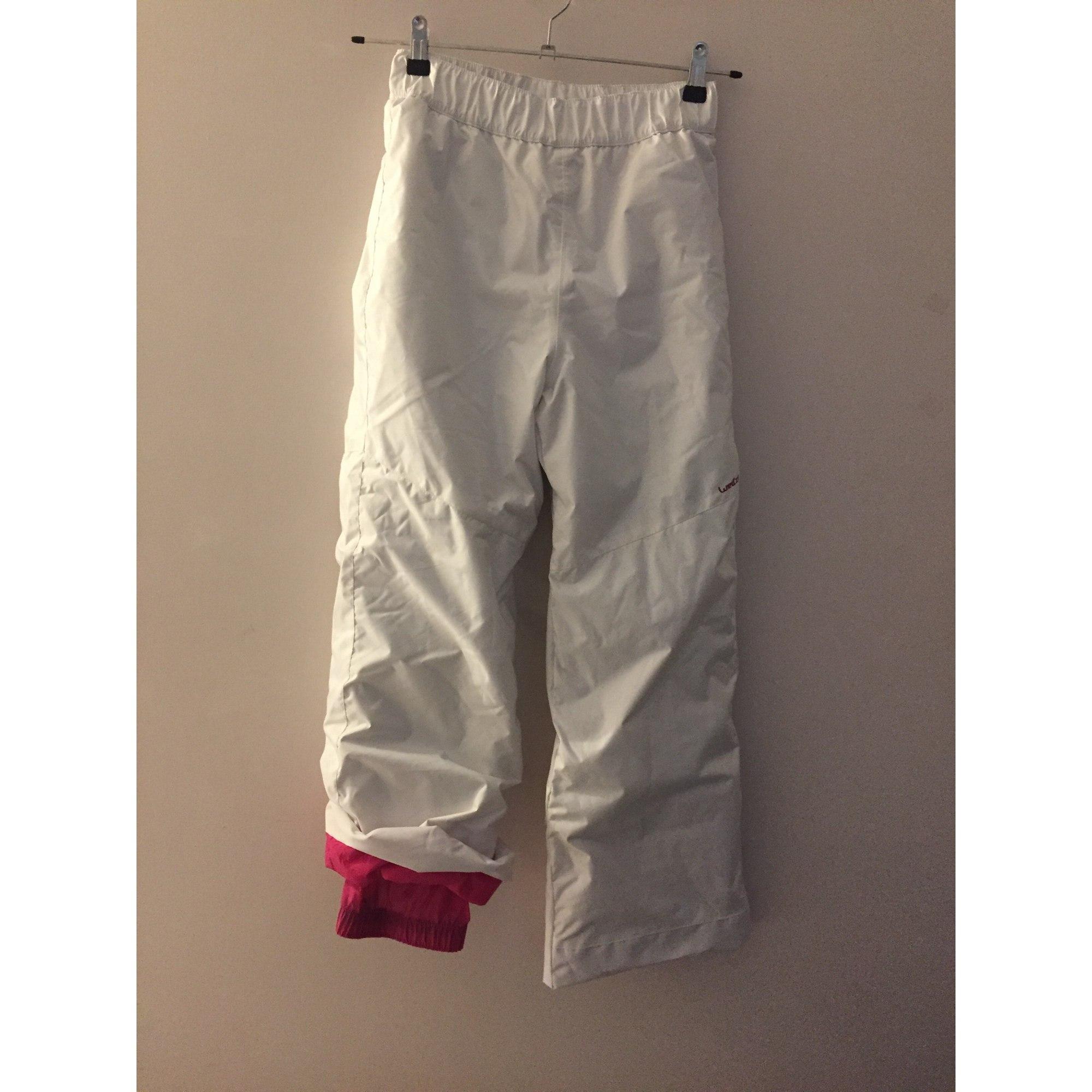 Pantalon De Ski Decathlon Autre Blanc 7405861