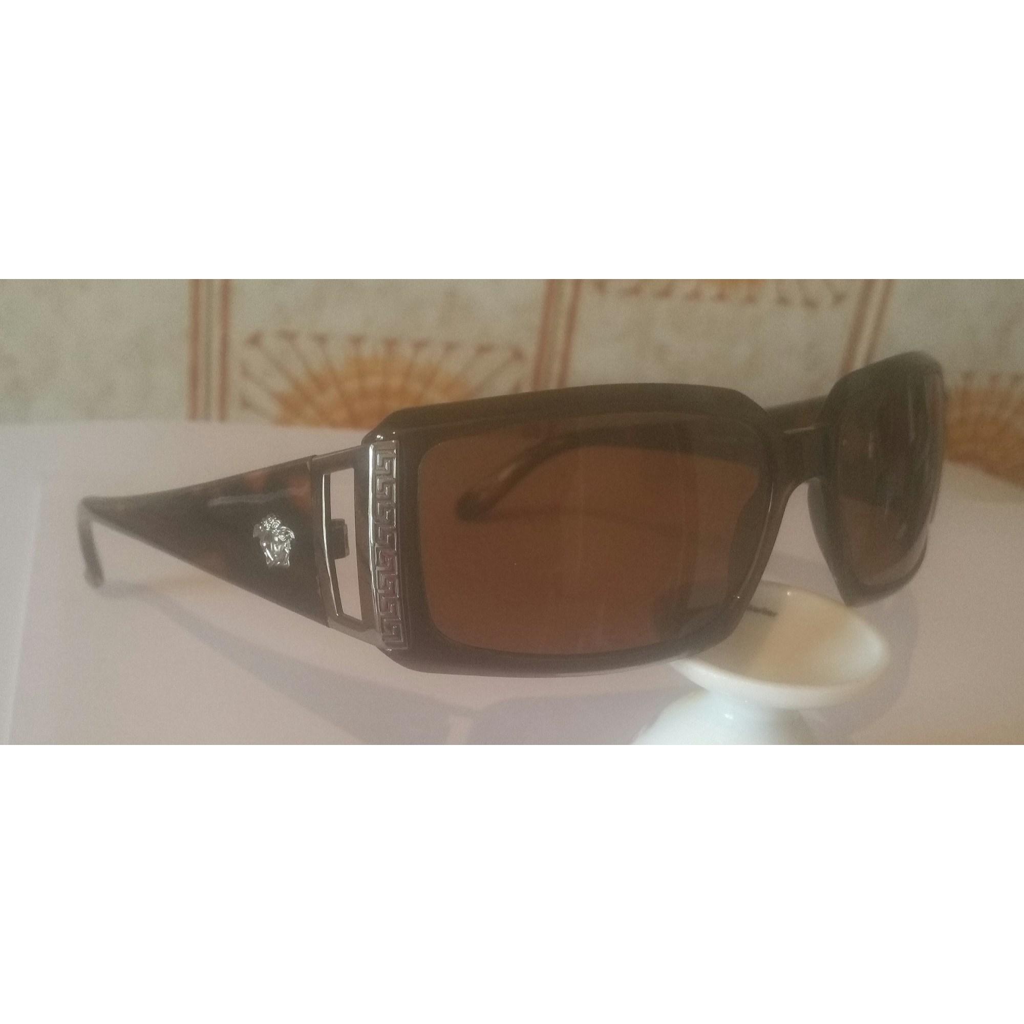 6761126a95 Lunettes de soleil VERSACE marron vendu par Nivolas optique - 7408698