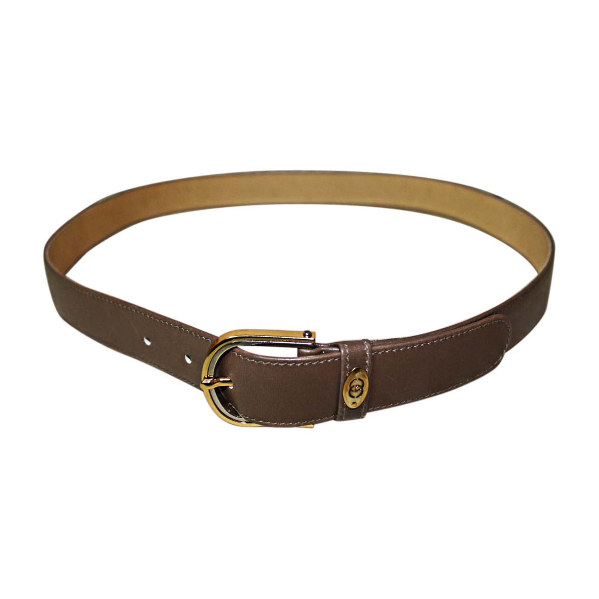 Ceinture GUCCI 95 marron - 7412518 fb1aa784853