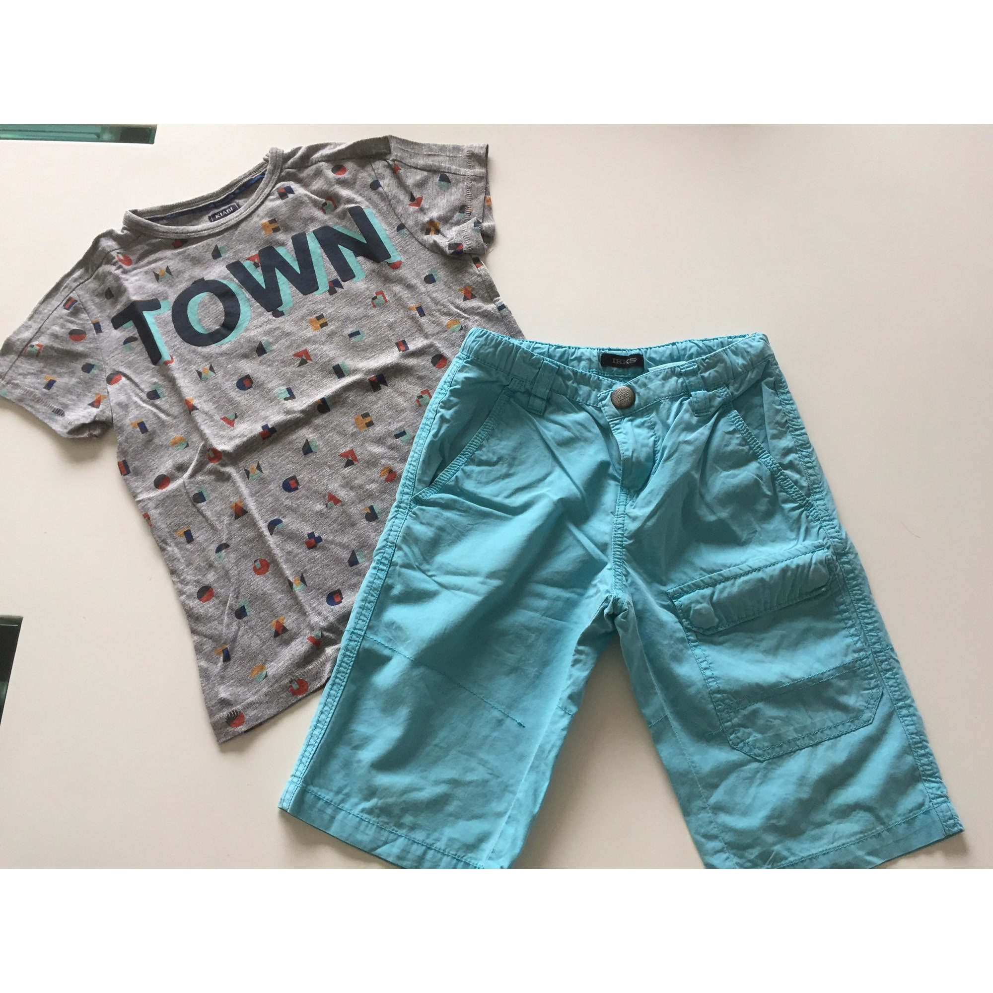 Shorts Set, Outfit IKKS Turquoise