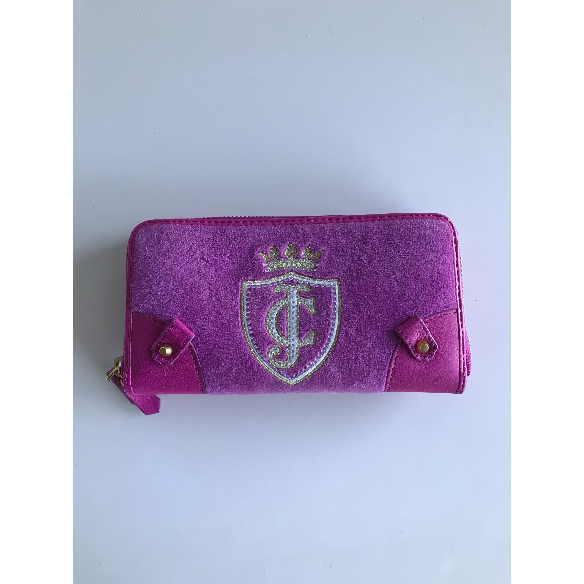 Portefeuille JUICY COUTURE synthétique rose