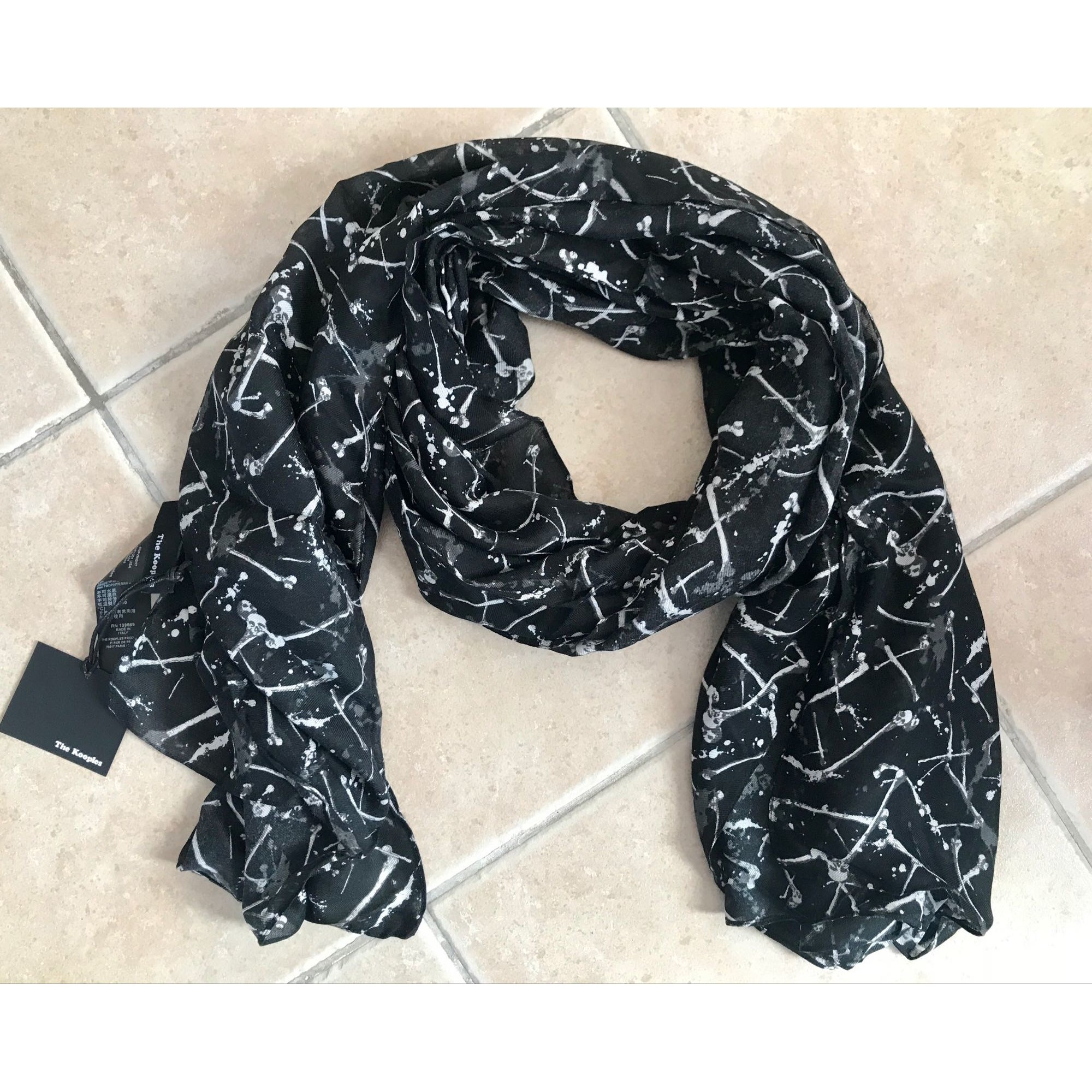 Foulard THE KOOPLES noir - 7428514 a536b7a0d82