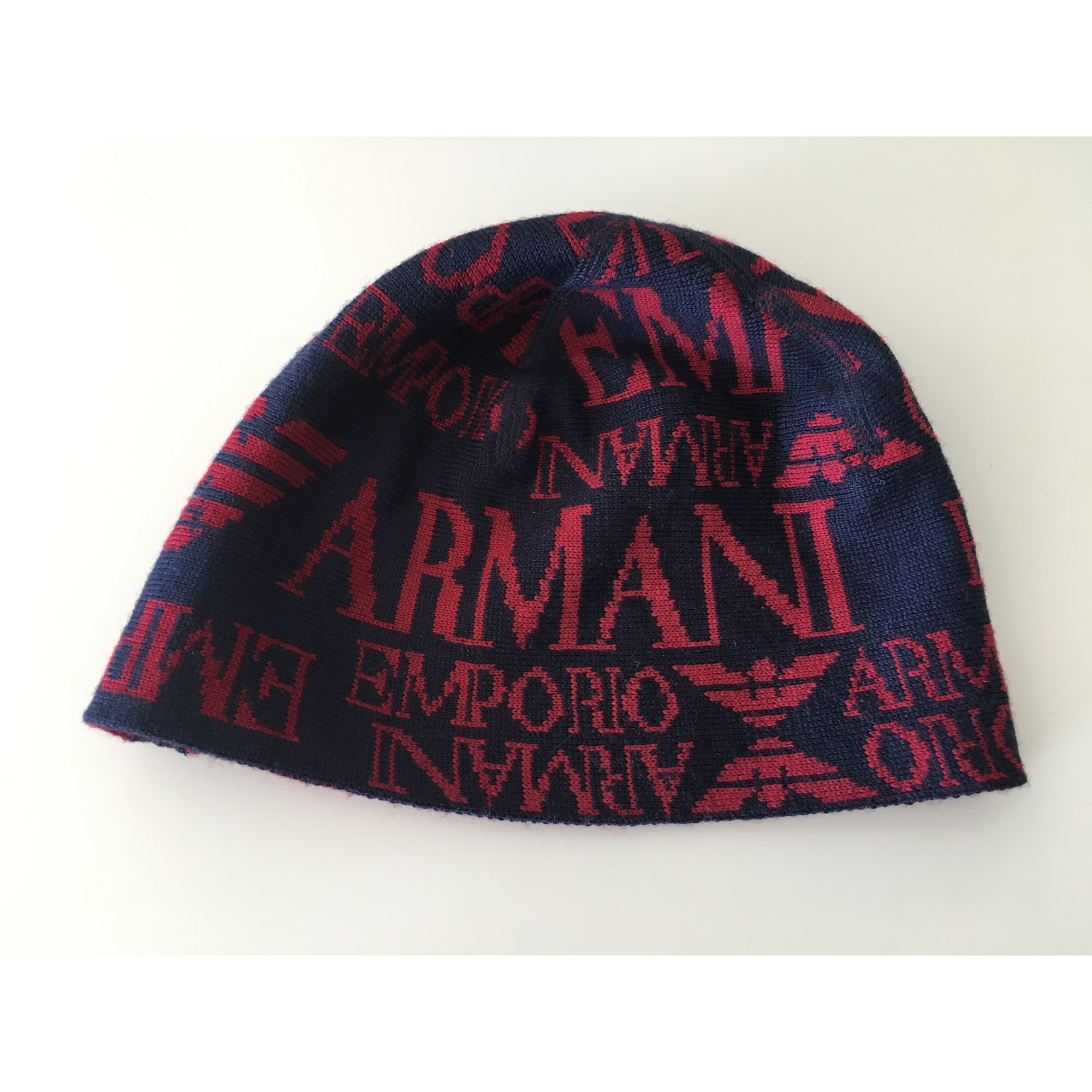 Bonnet EMPORIO ARMANI 57 bleu vendu par Angelina jolie - 7430710 6561c3f0b7e