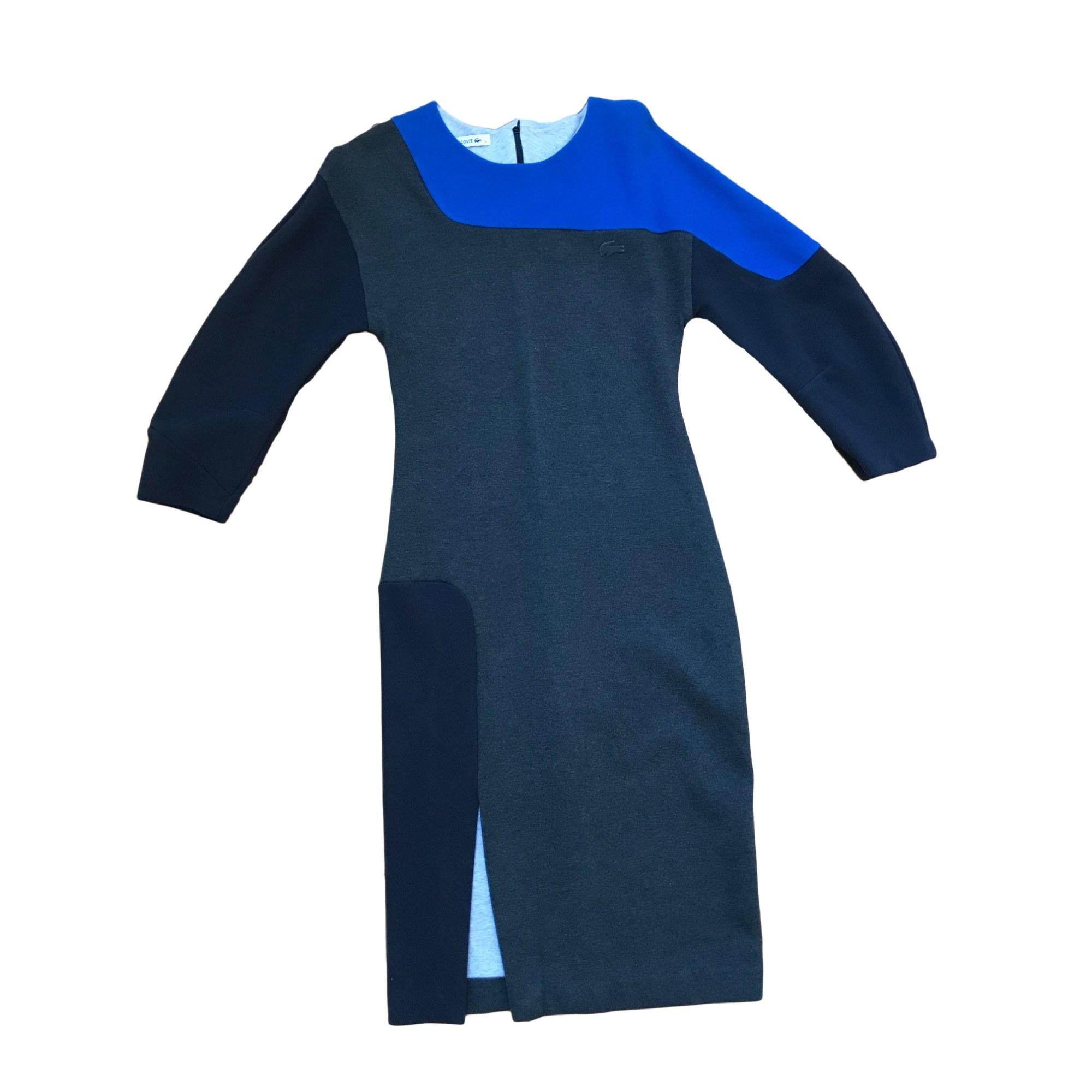 Robe mi-longue LACOSTE Gris, anthracite
