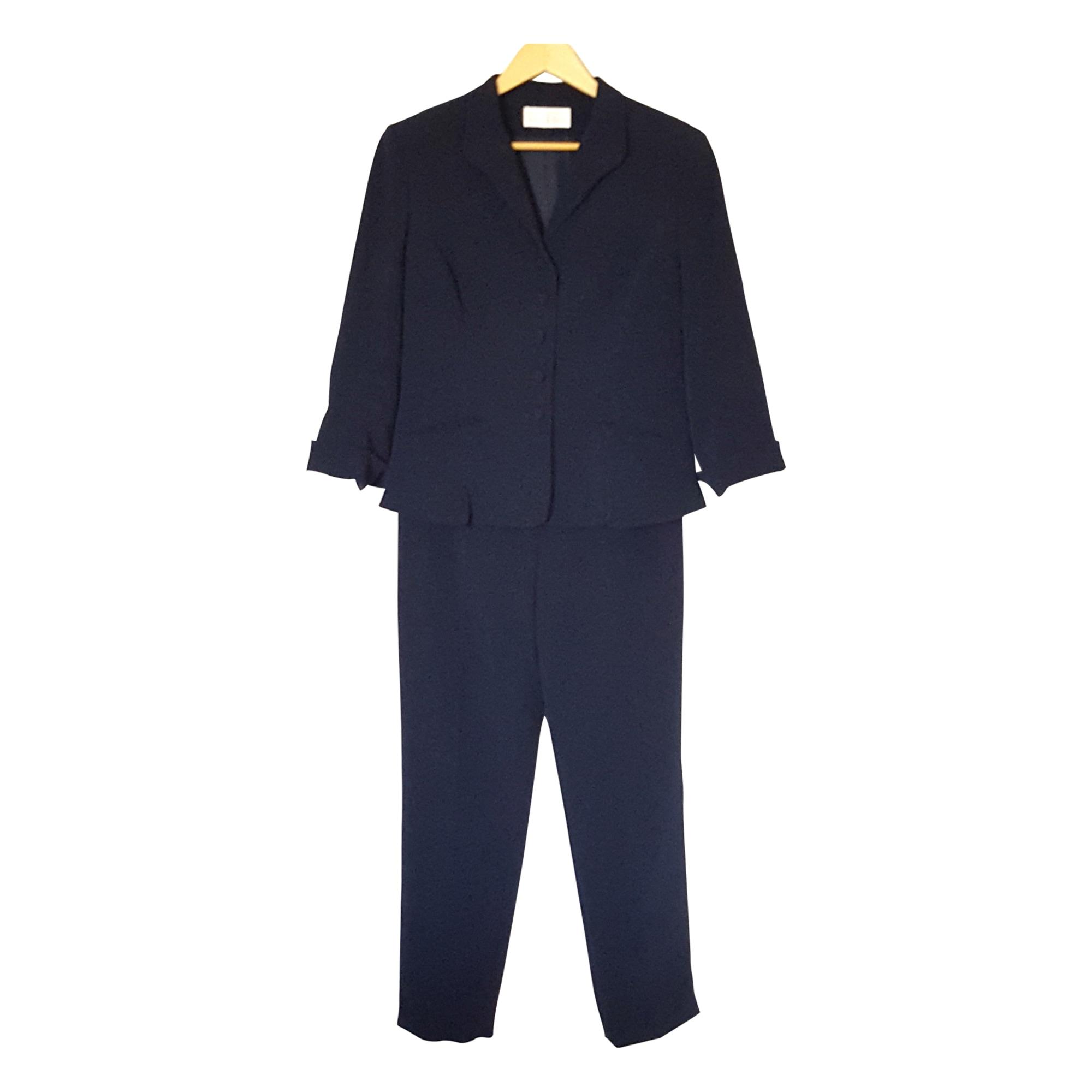 b72d2f1aff Tailleur pantaloni UN JOUR AILLEURS 40 (L, T3) blu - 7433365