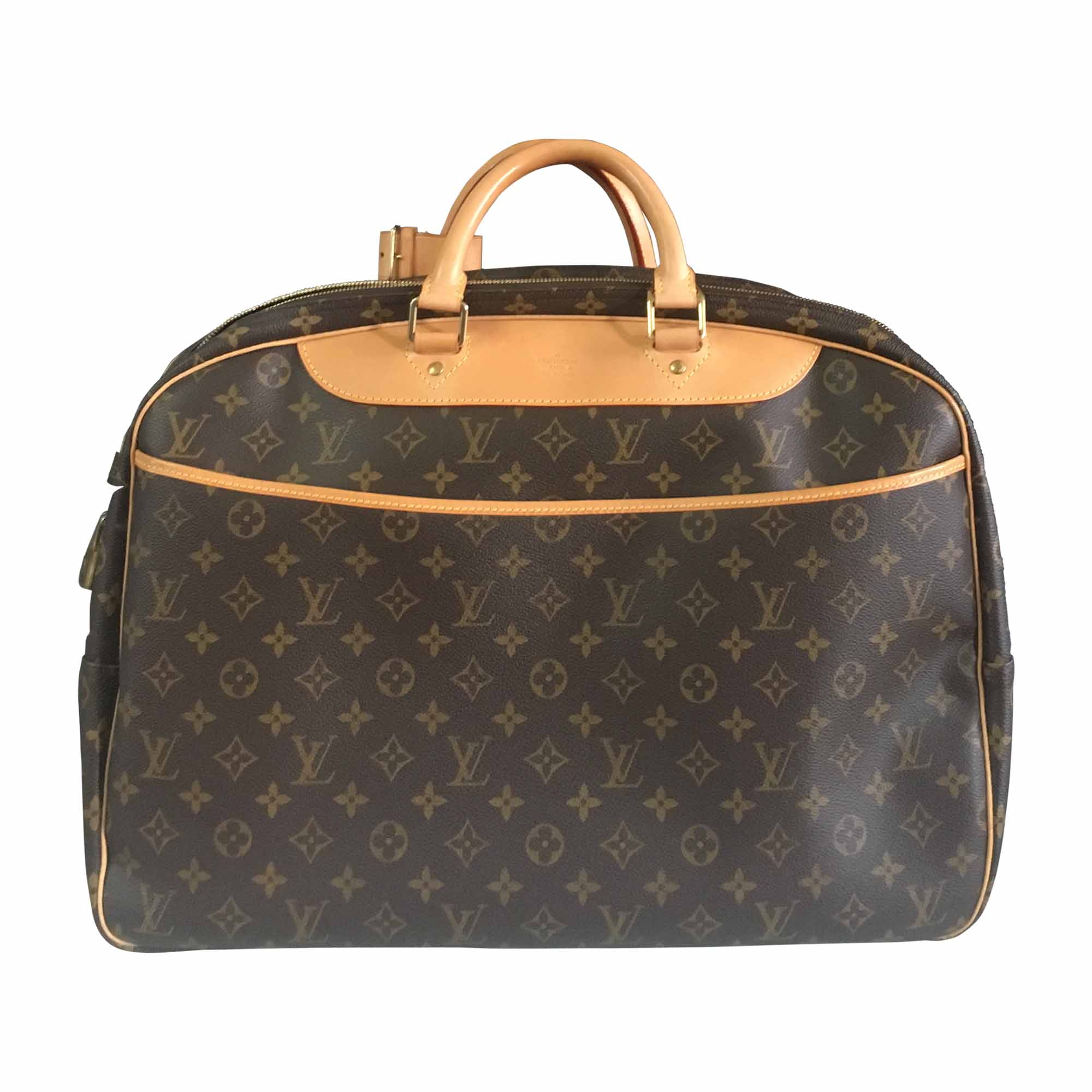 a96b895e57df Sac XL en cuir LOUIS VUITTON marron vendu par Jade sue590381 - 7434566
