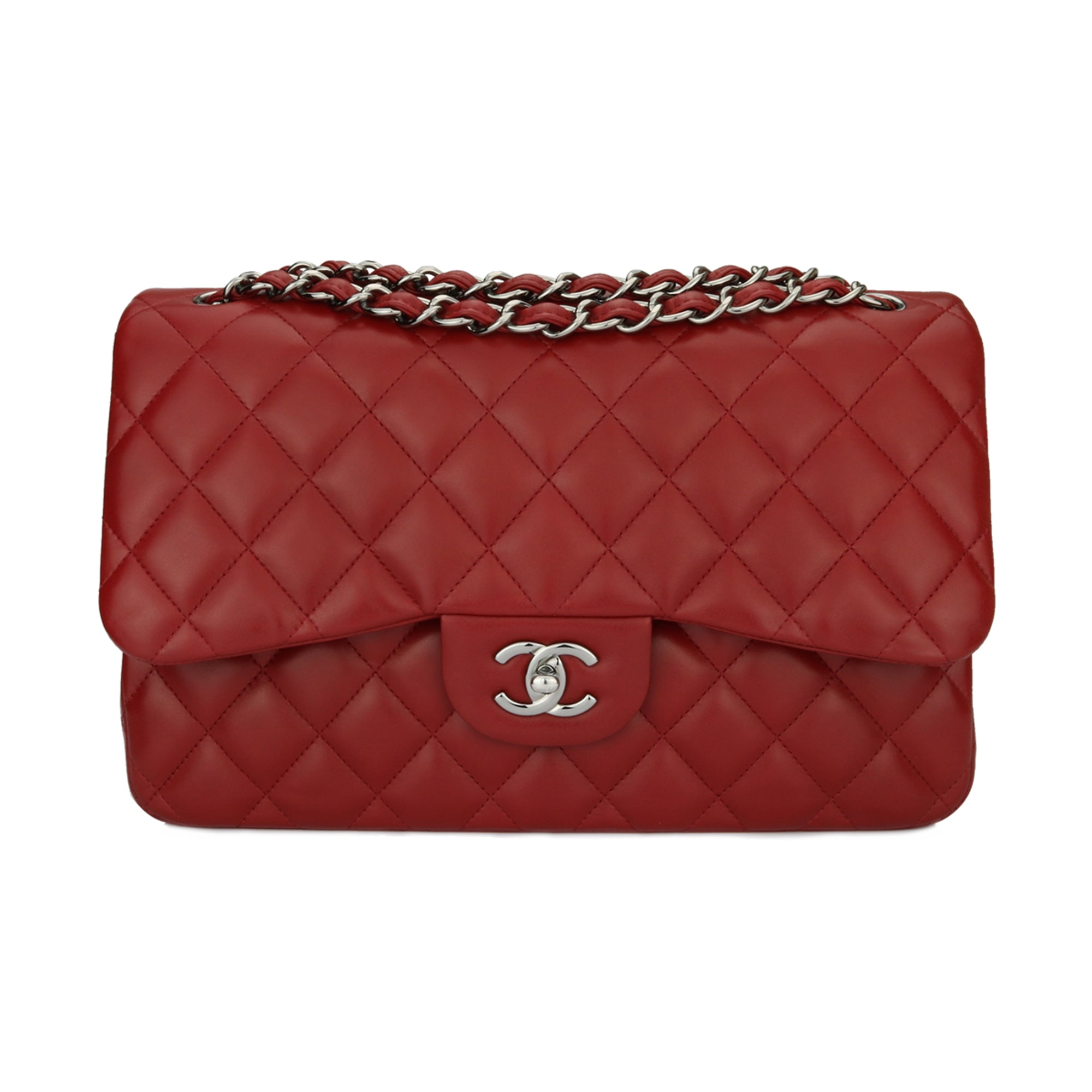 565413140d60 Sac à main en cuir CHANEL timeless rouge - 7441486