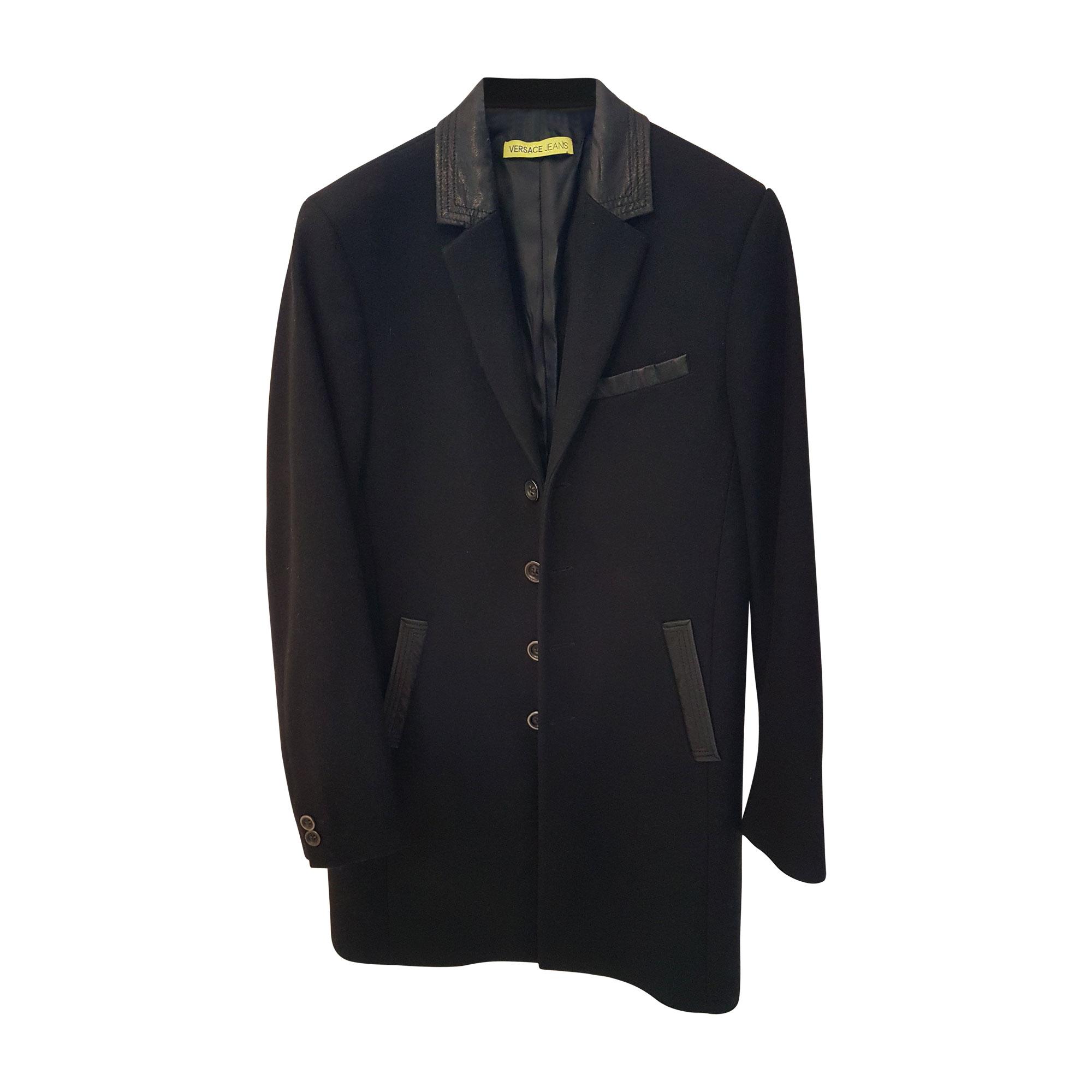 Manteau VERSACE 48 (M) noir vendu par Nives116275 - 7444137 e5cd7d4a00e