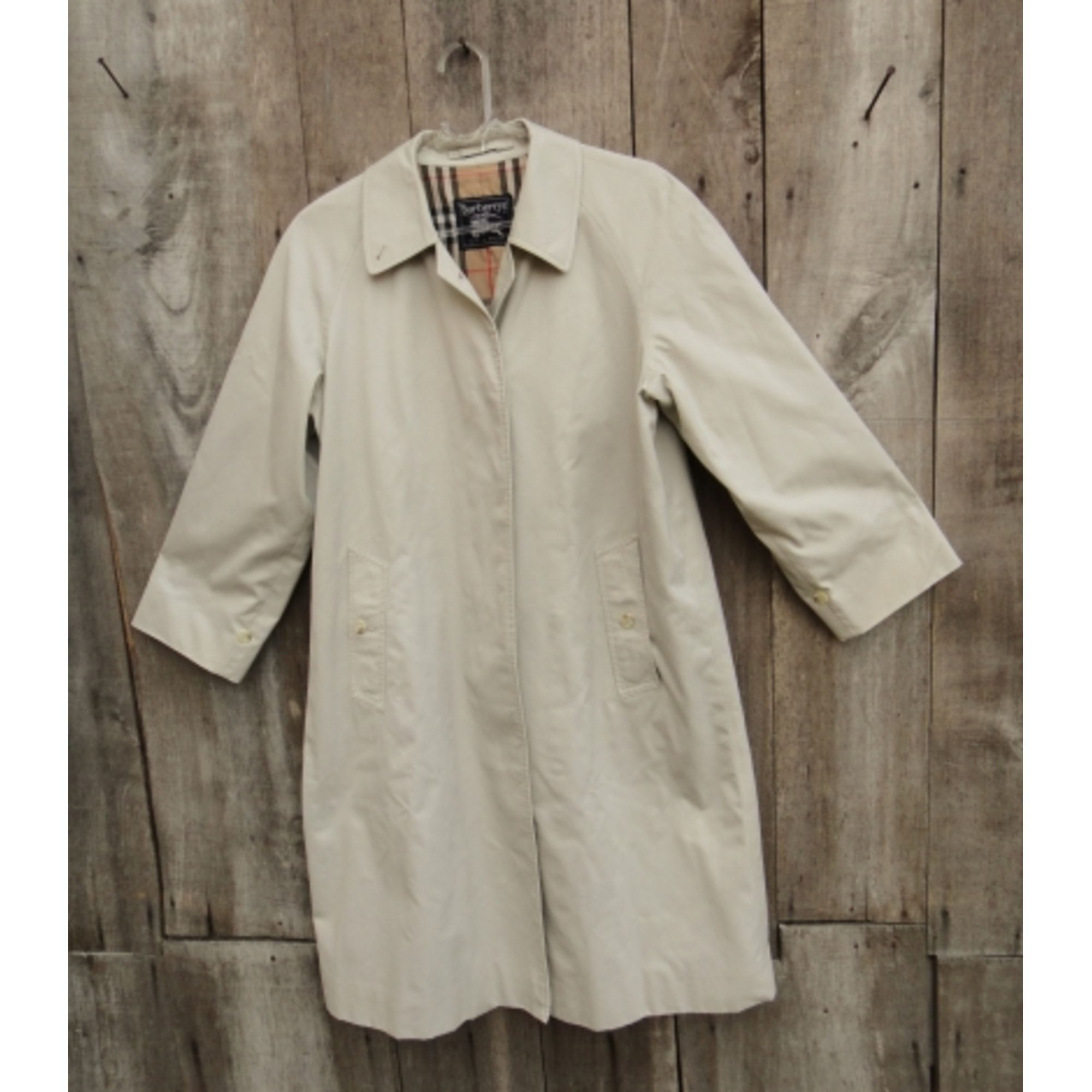 00d29f119c3ab1 Imperméable, trench BURBERRY 40 (L, T3) beige - 7447013