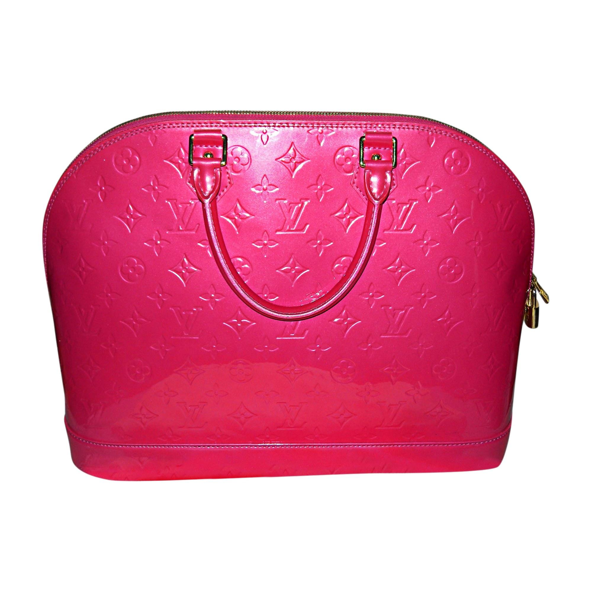 Sac à main en cuir LOUIS VUITTON alma rose vendu par Sandy28400 ... bfaaa324921e