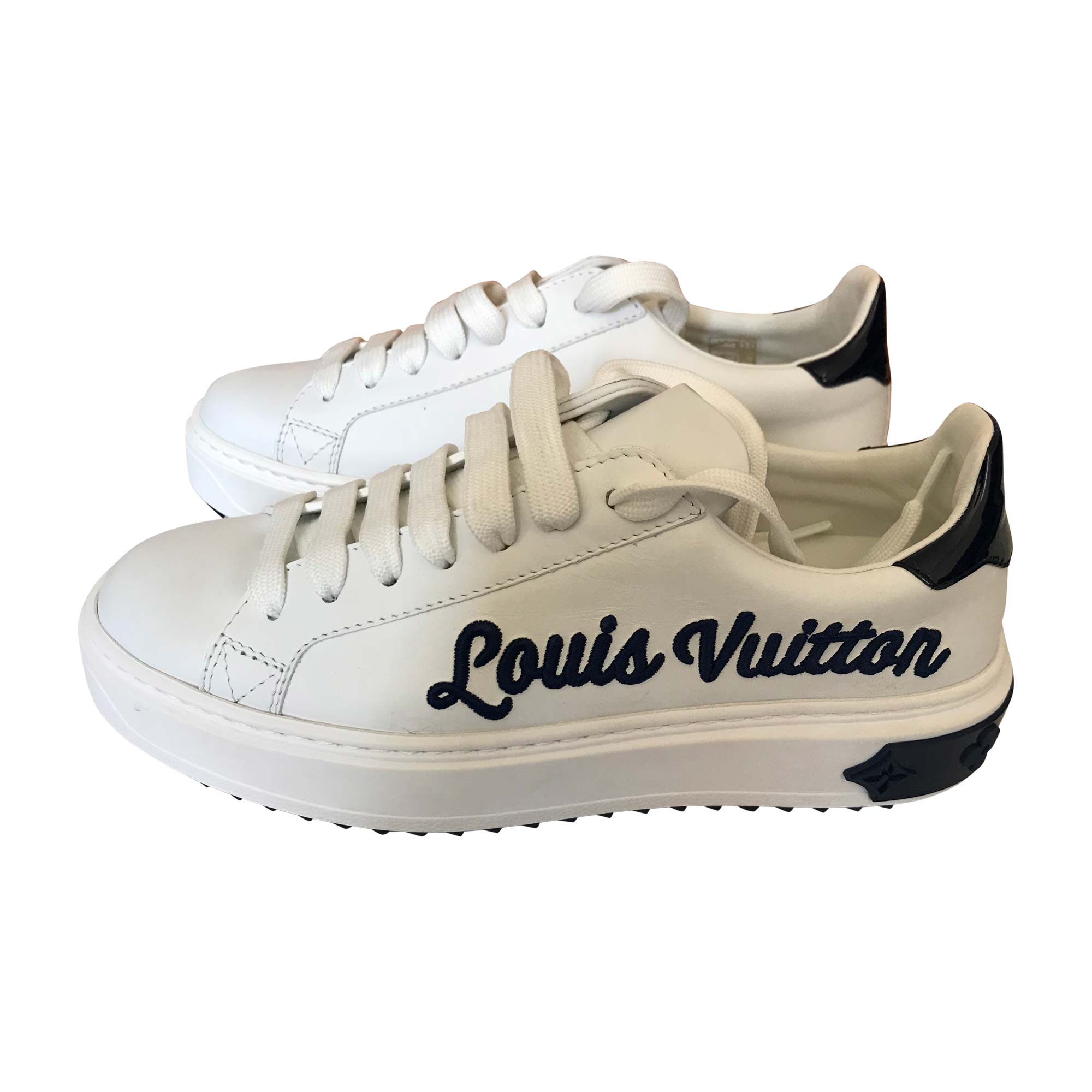 Baskets LOUIS VUITTON 36 blanc vendu par Assia 264 - 7450203 e9bda5937aa