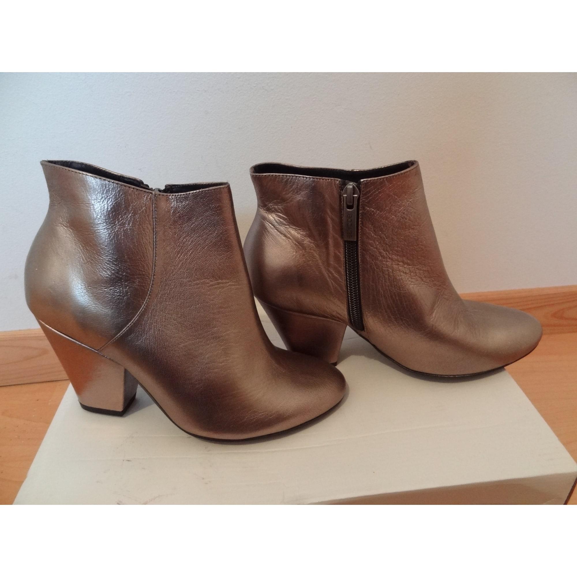 Bottines & low boots à talons BOCAGE cuir noir 36 TYceHd