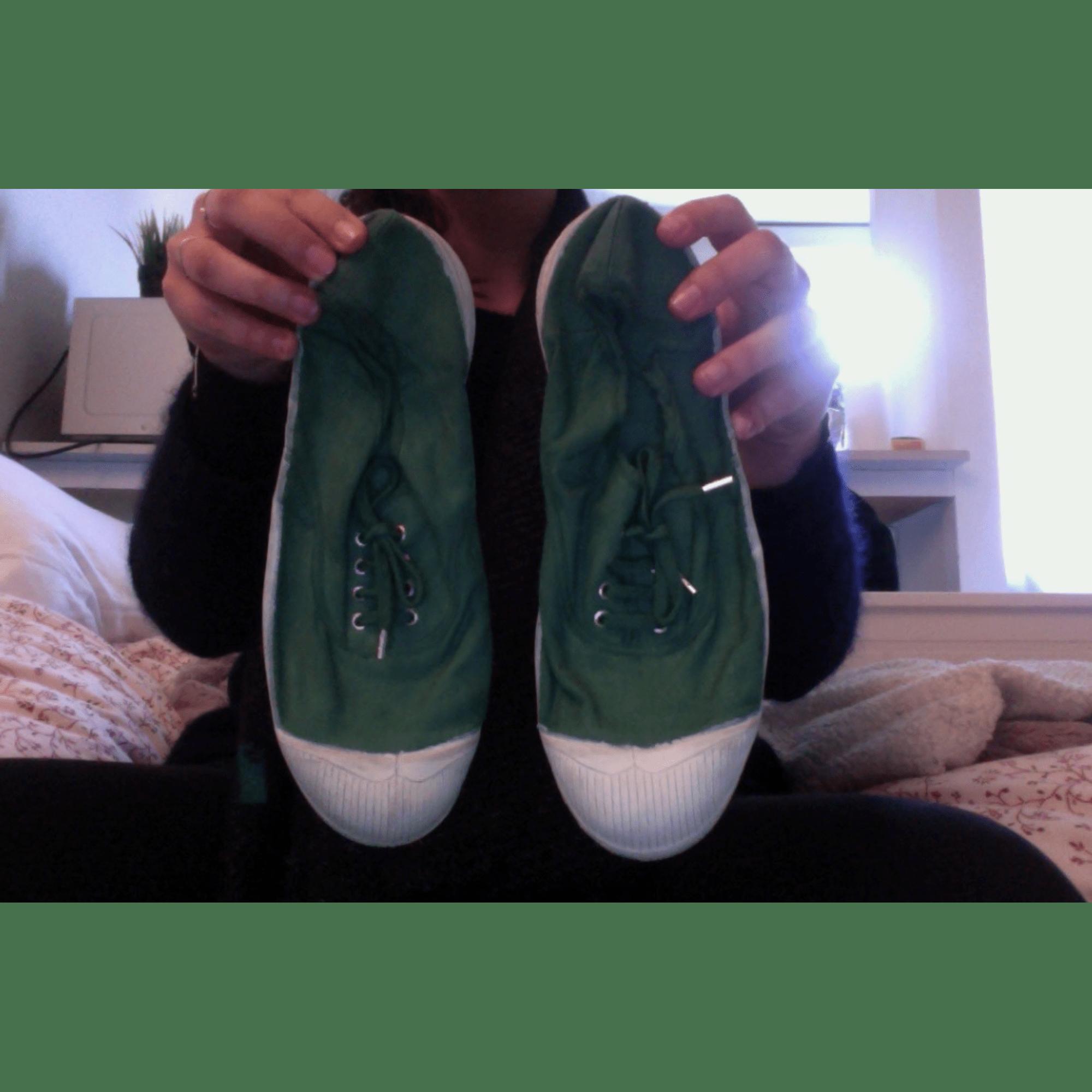 c9e19775800488 Chaussures à lacets BENSIMON 40 vert - 7453891