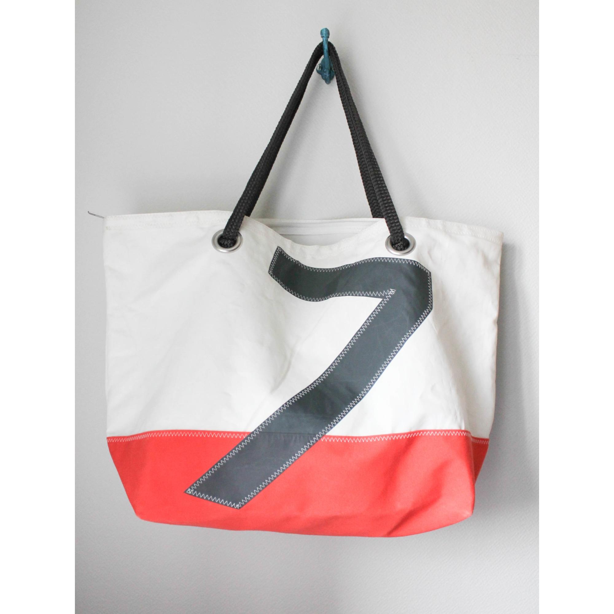 sac xl en tissu 727 sailbags orange - 7458011