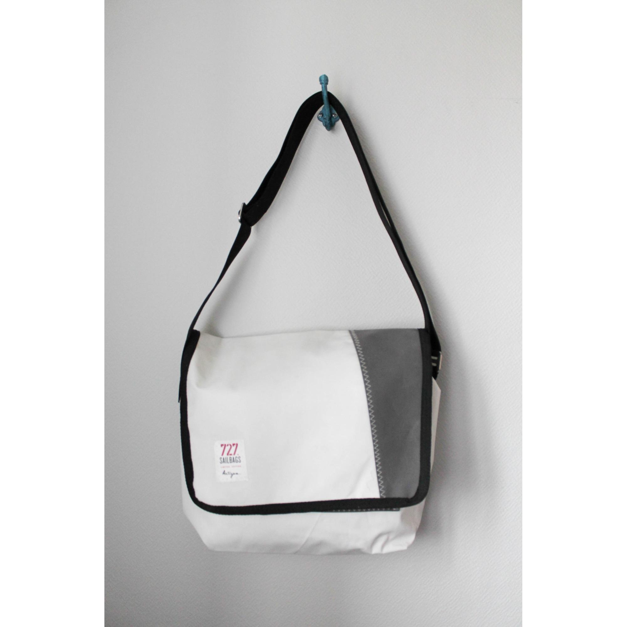 sac en bandoulière 727 sailbags gris - 7458243