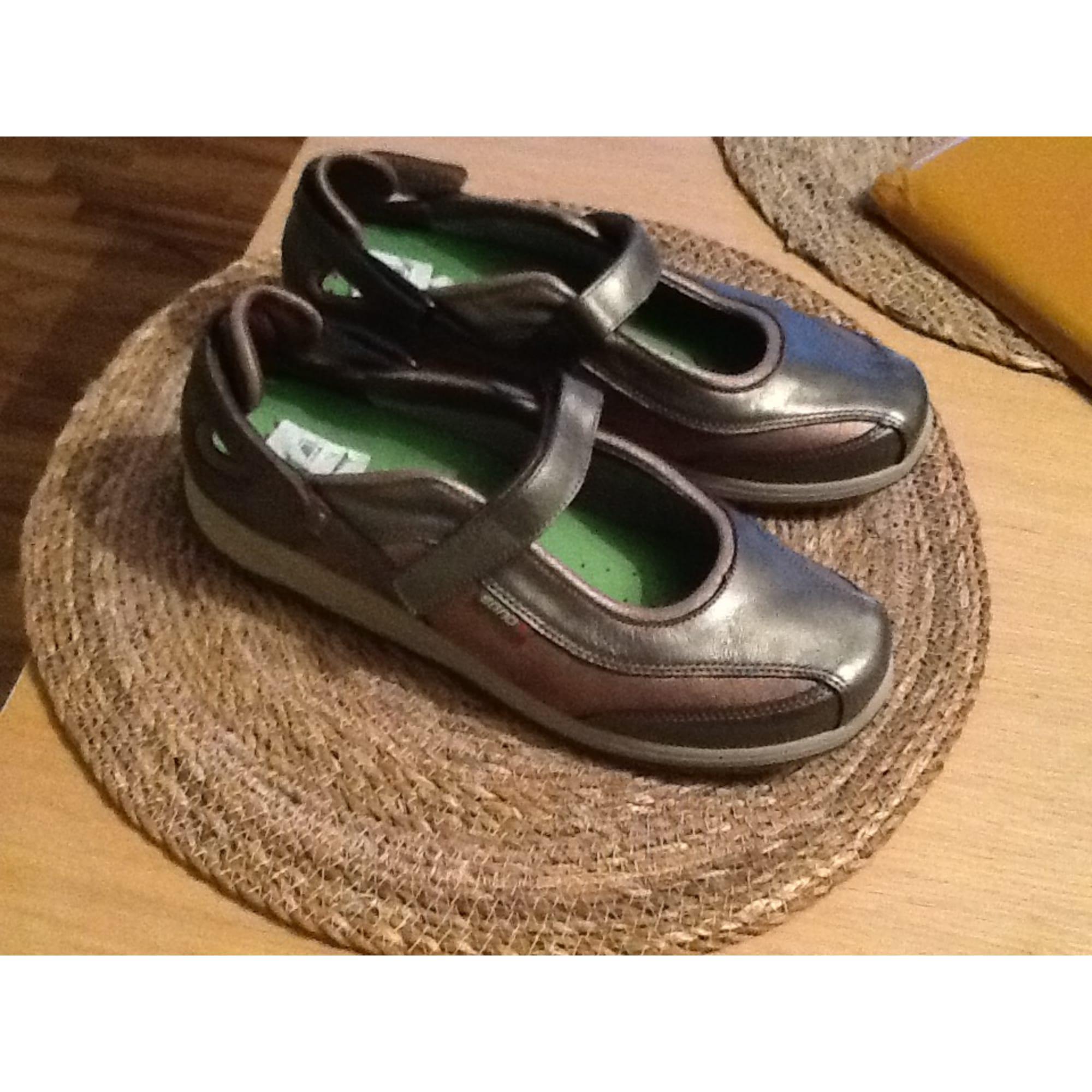 074af7ade9fe3c Chaussures de sport MEPHISTO Doré, bronze, cuivre
