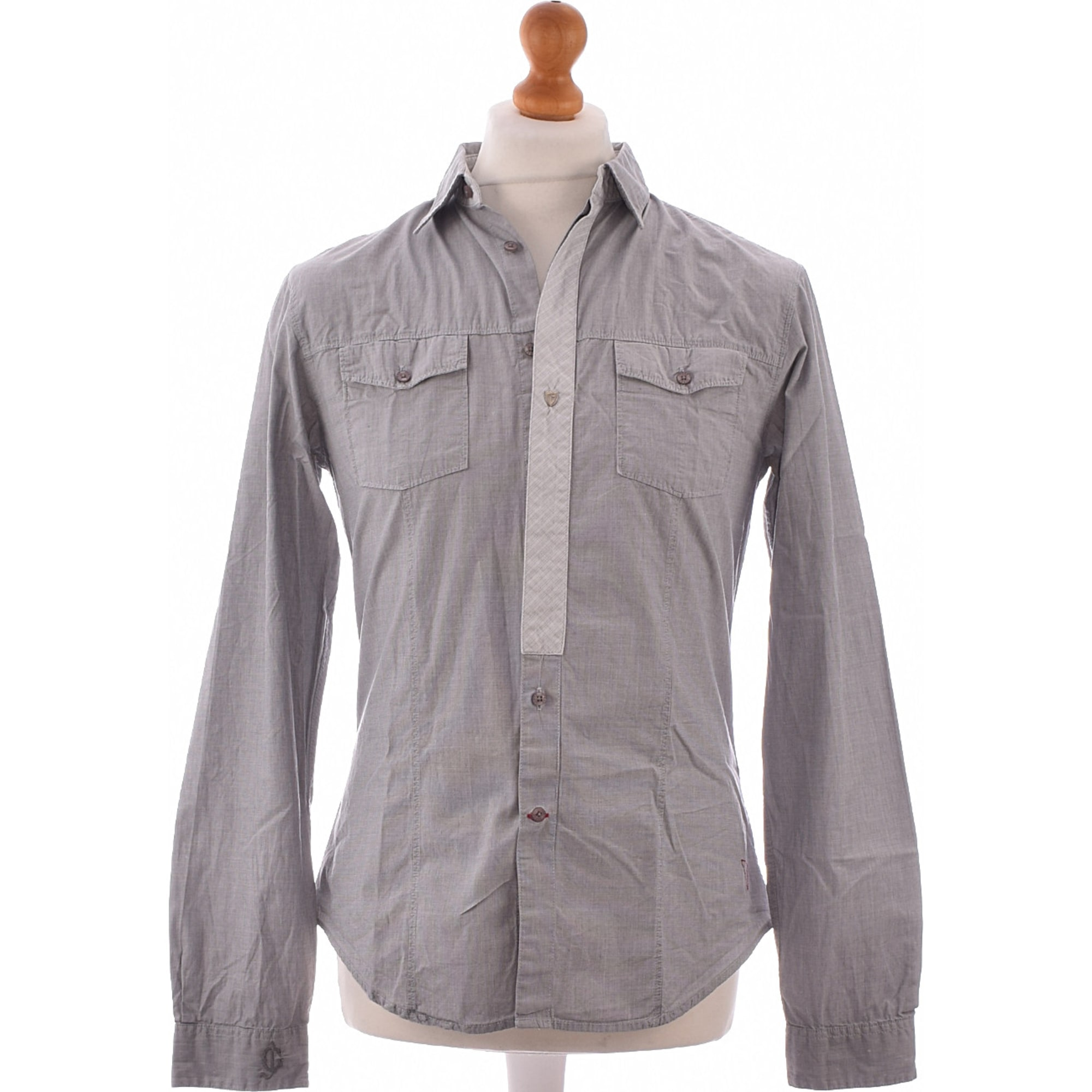 Shirt GUESS Gray, charcoal