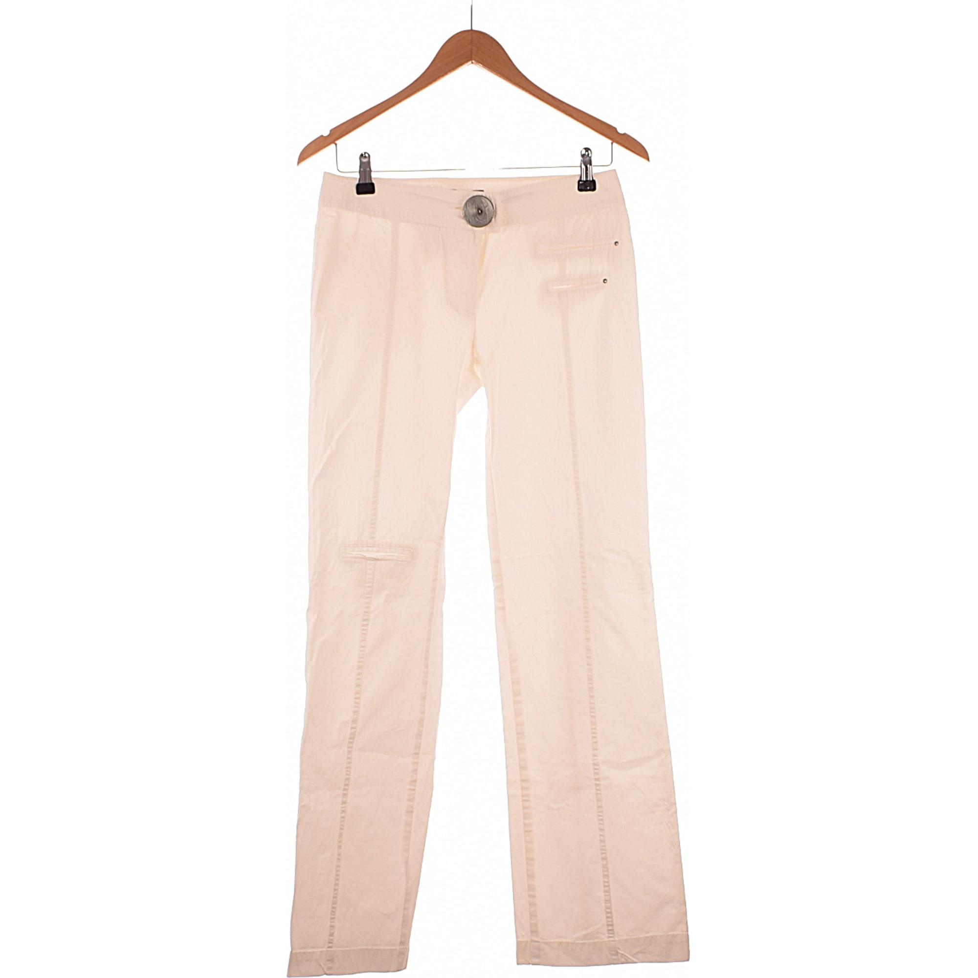 pantalon blanc cop copine