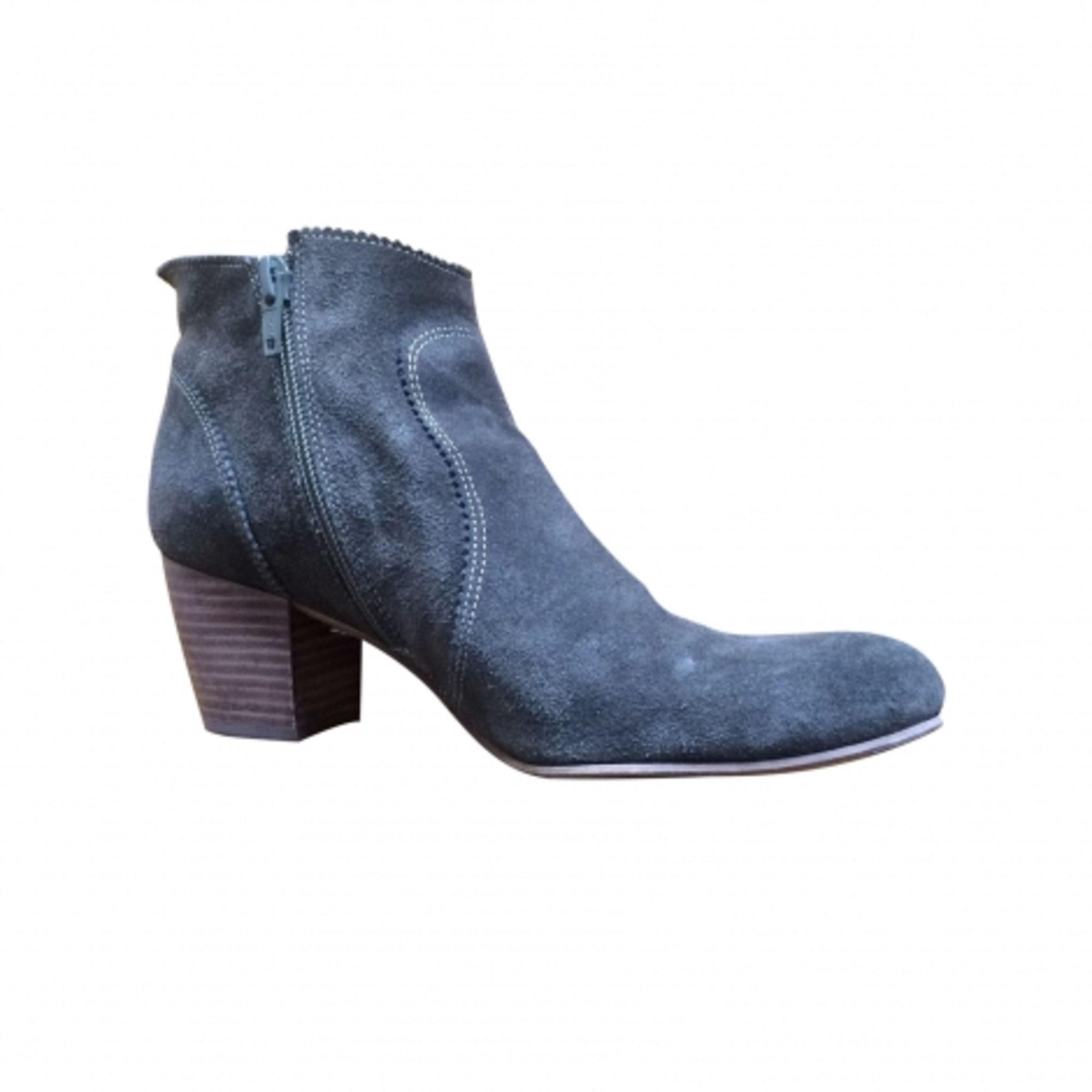 905796d8926 Bottines amp  low boots à talons MINELLI daim marron 37 BbEGxh ...