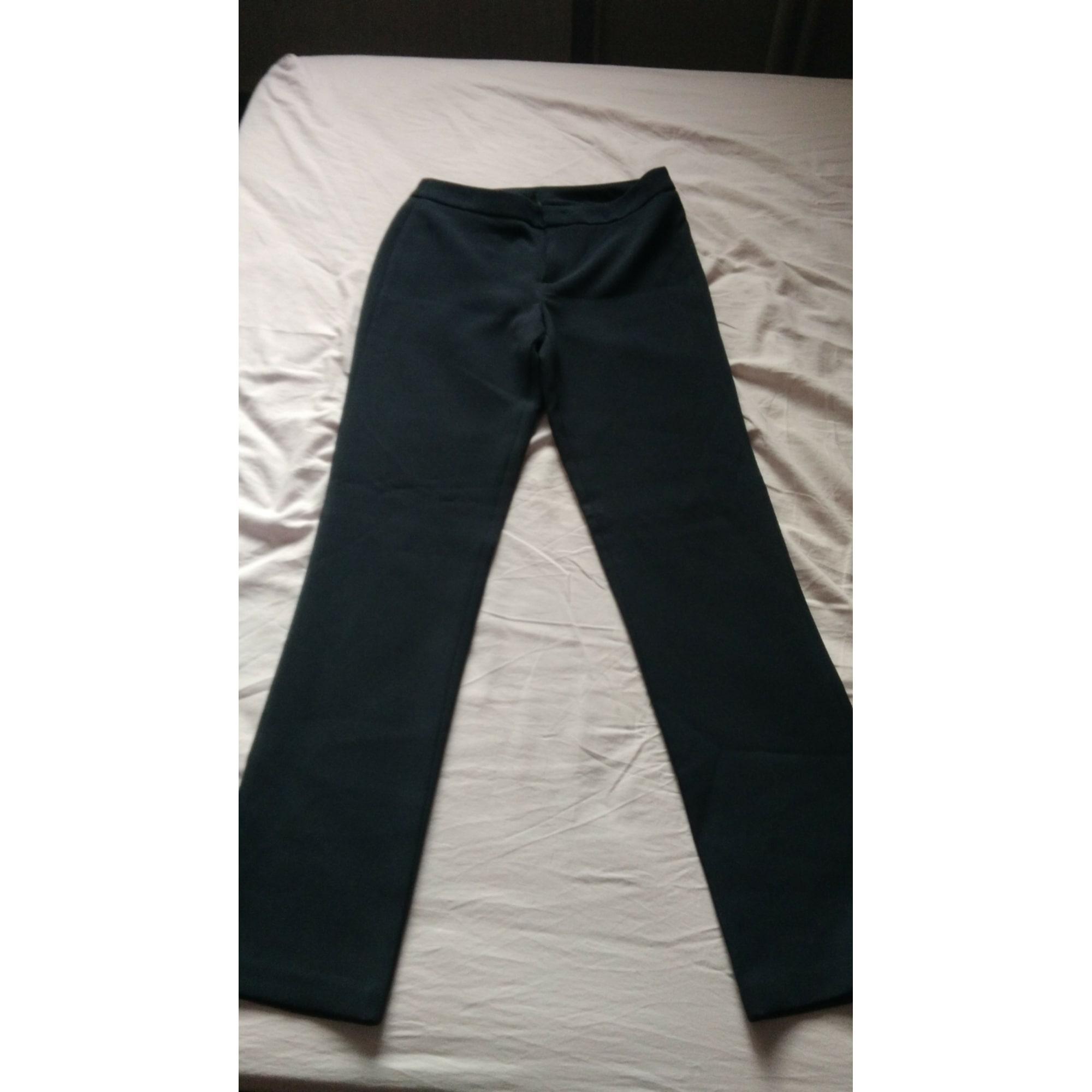 Pantalon droit UNITED COLORS OF BENETTON Bleu, bleu marine, bleu turquoise