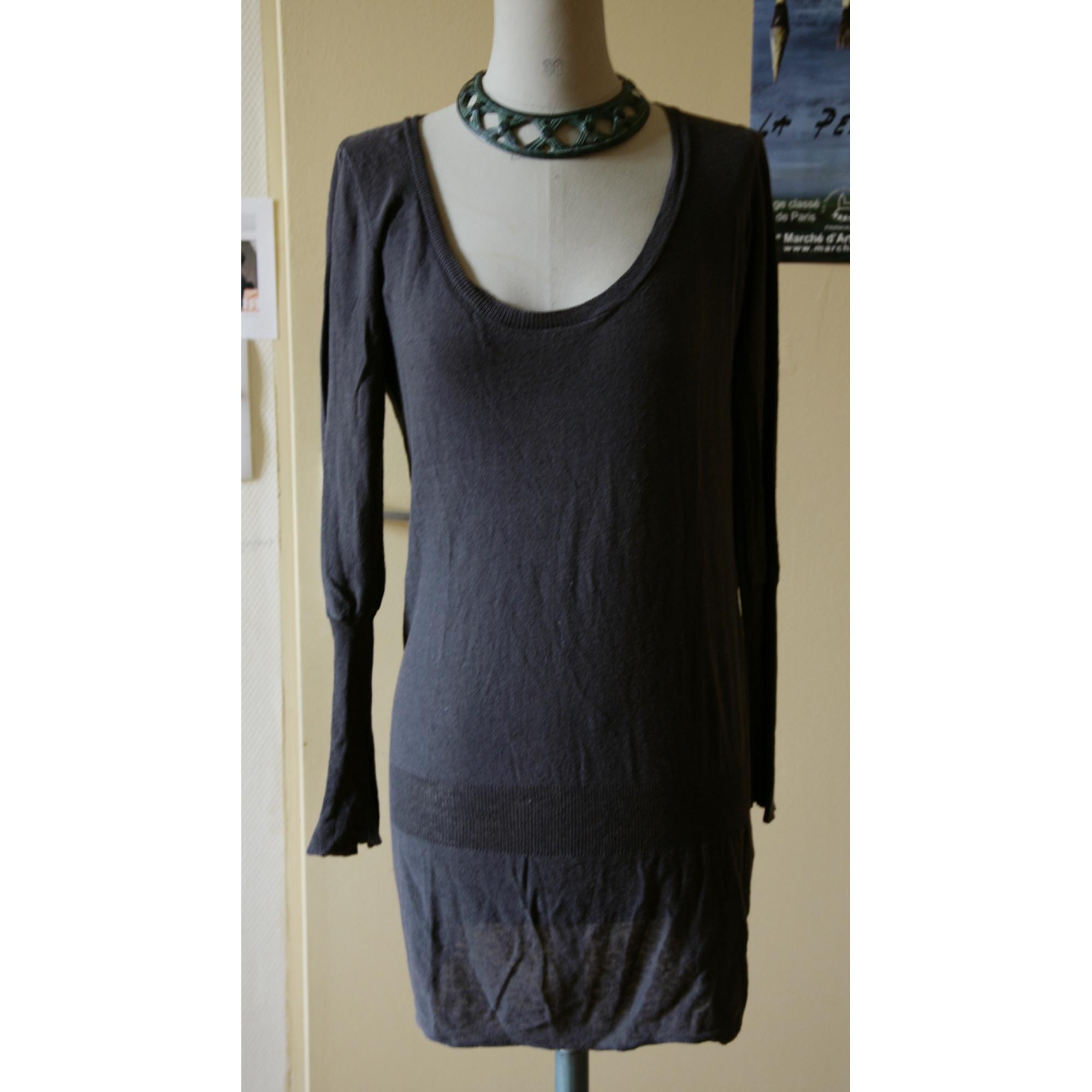 Maje Robe pull coton 38 (M, T2)