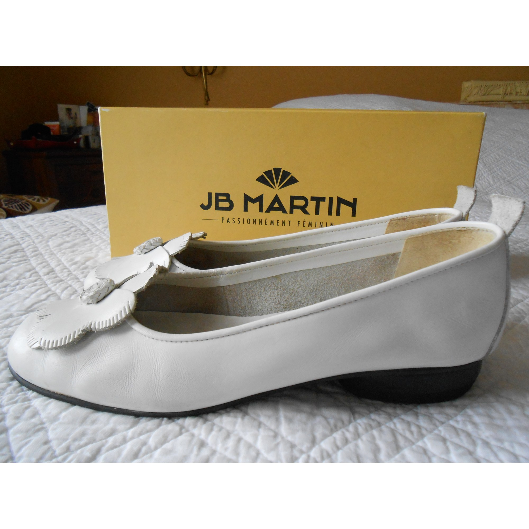 7d9a684188a6a Ballerines JB MARTIN 39 blanc - 7478477