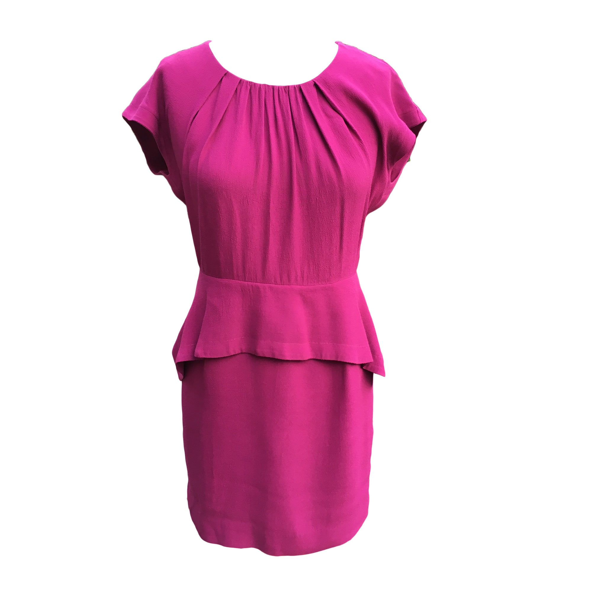 Mini Dress SANDRO Pink, fuchsia, light pink