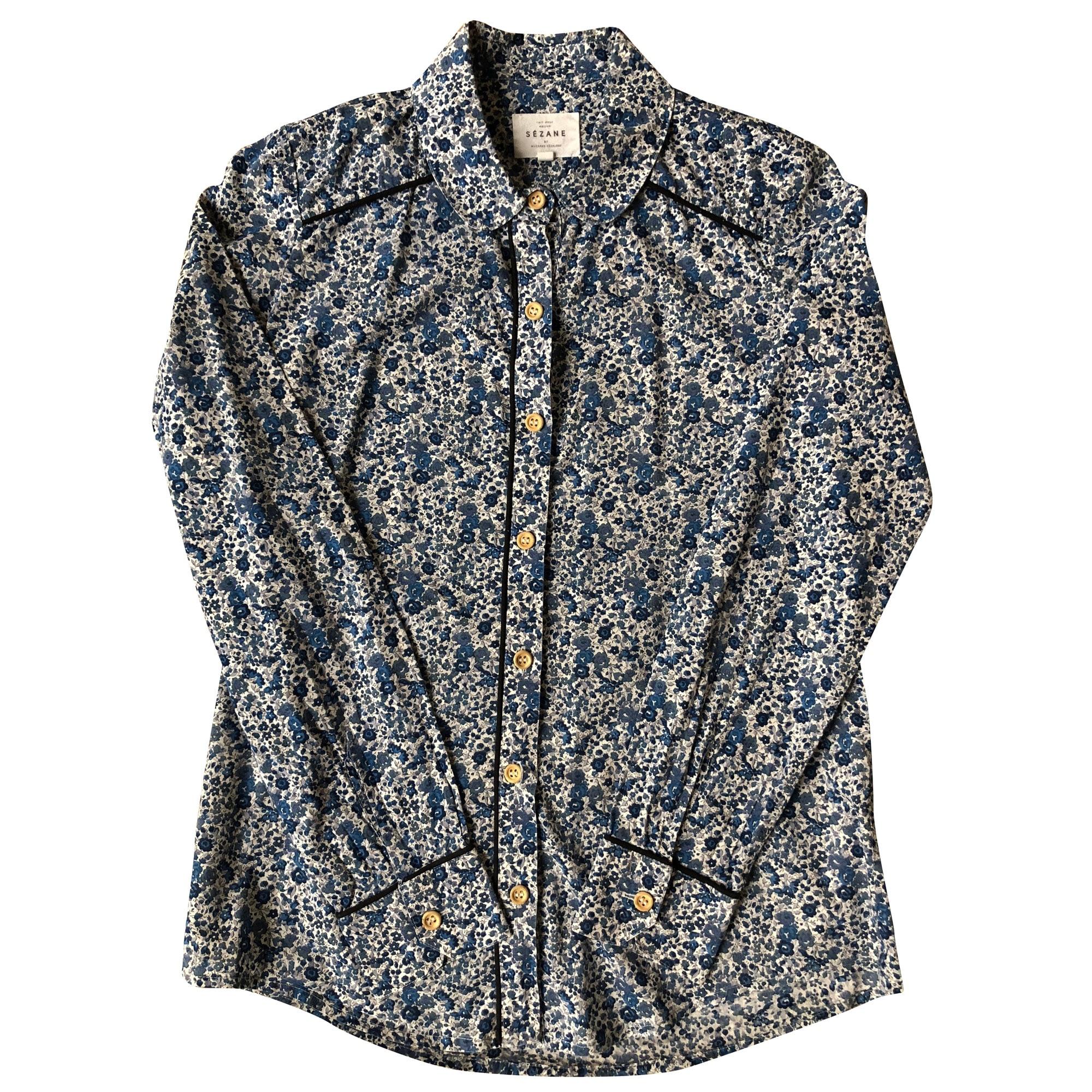 Shirt SÉZANE Blue, navy, turquoise