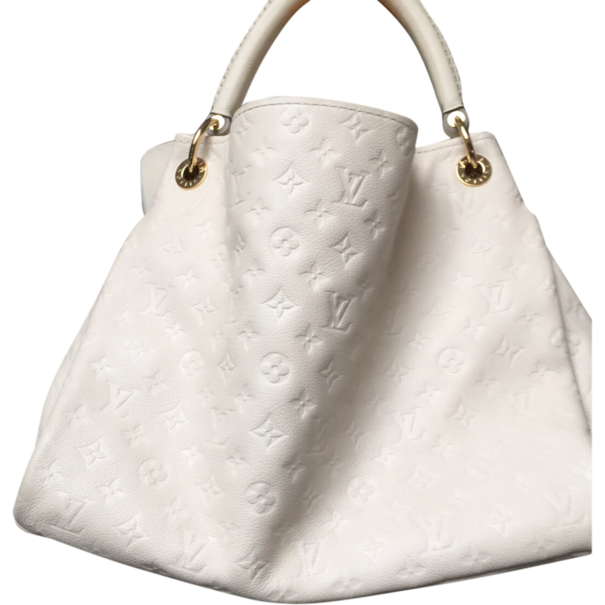 099d71168144 Sac à main en cuir LOUIS VUITTON blanc vendu par Elvira 27 - 7491427