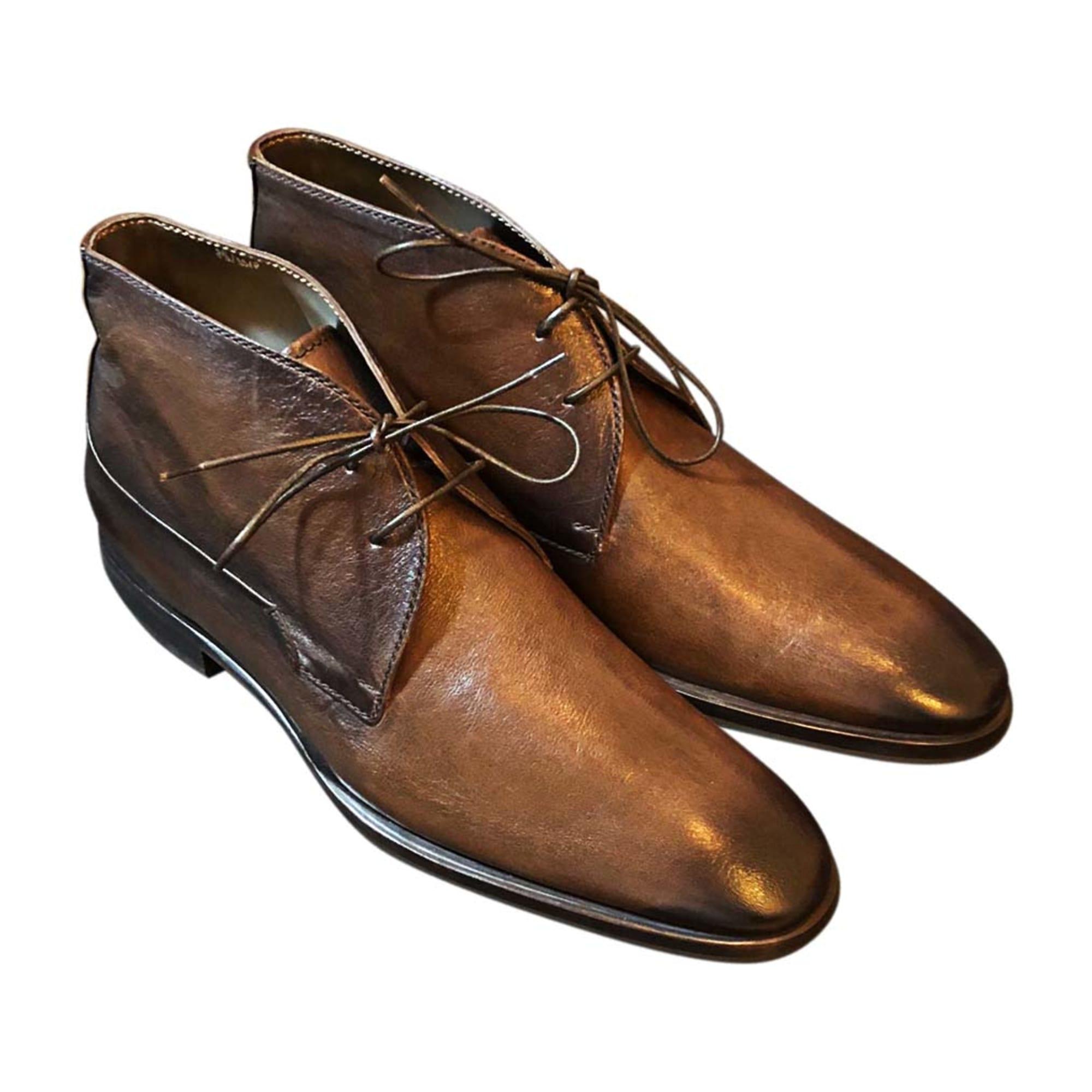 1003c08b7fd7 Chaussures à lacets BERLUTI 42,5 marron vendu par Fanny1073901 - 7494040