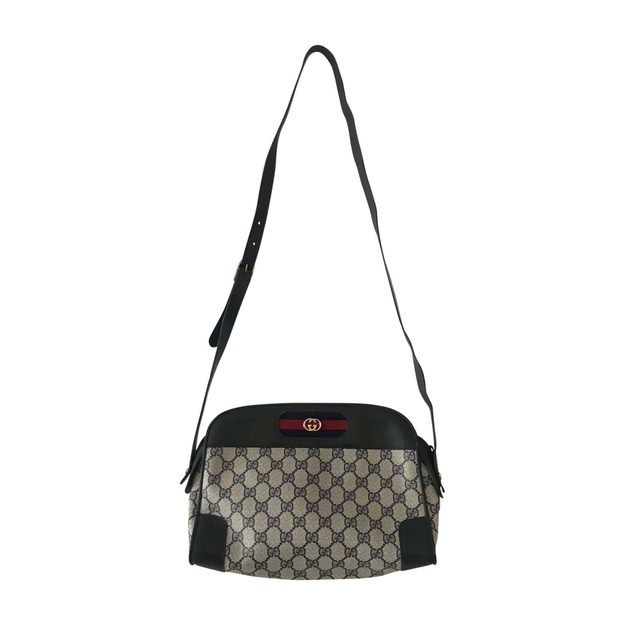 leather shoulder bag gucci beige vendu par delphine 4218 - 7501045
