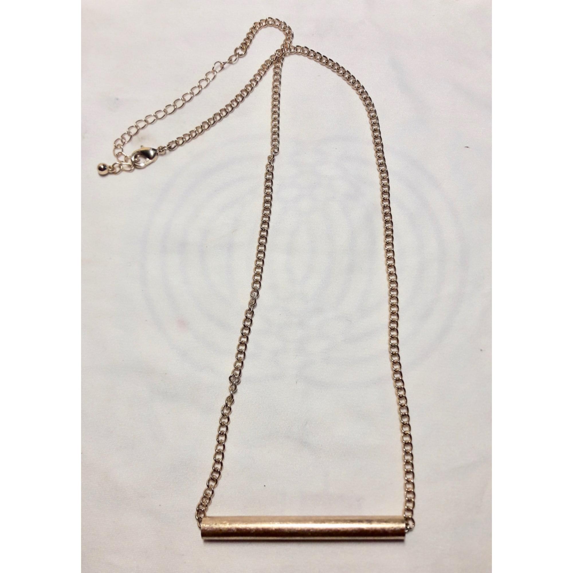Chaine H&M Doré, bronze, cuivre