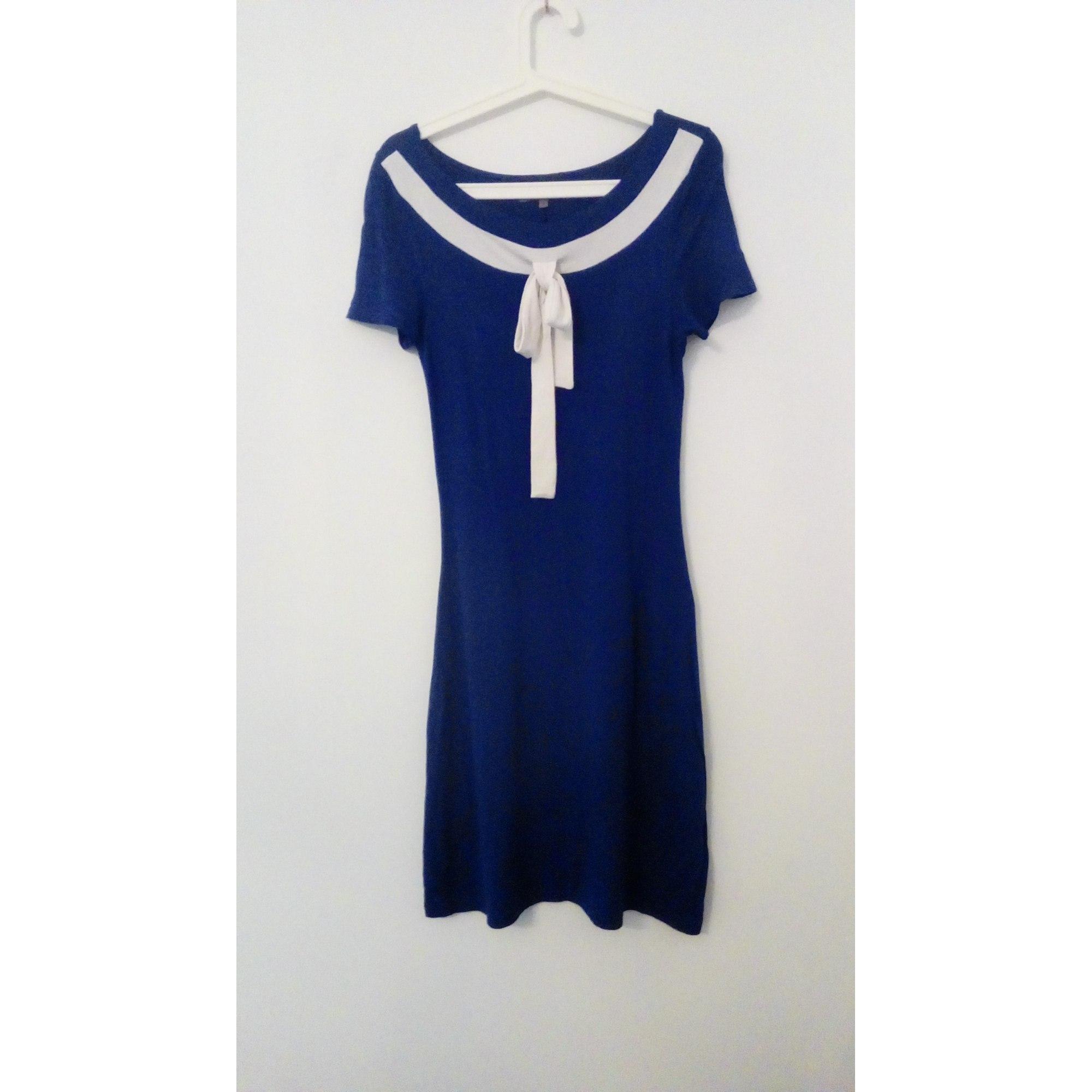 0ed30f70c03 Zalando Robe Robe Bleu Zalando Marine Femme ZBBUw