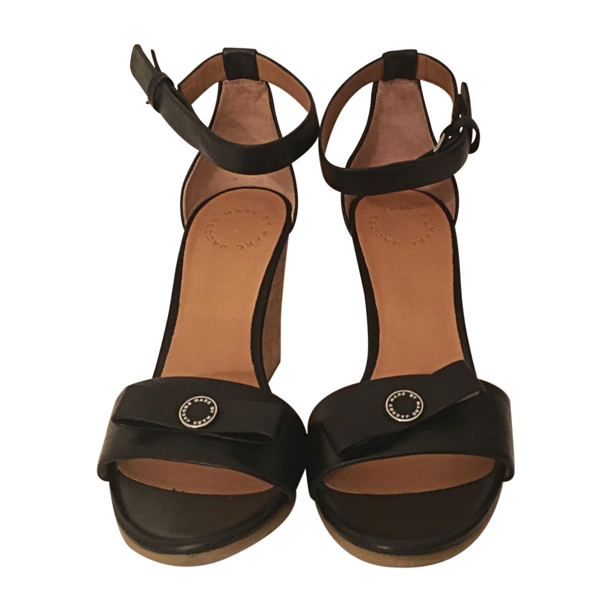 Sandales compensées MARC JACOBS Noir e6f53000f9a