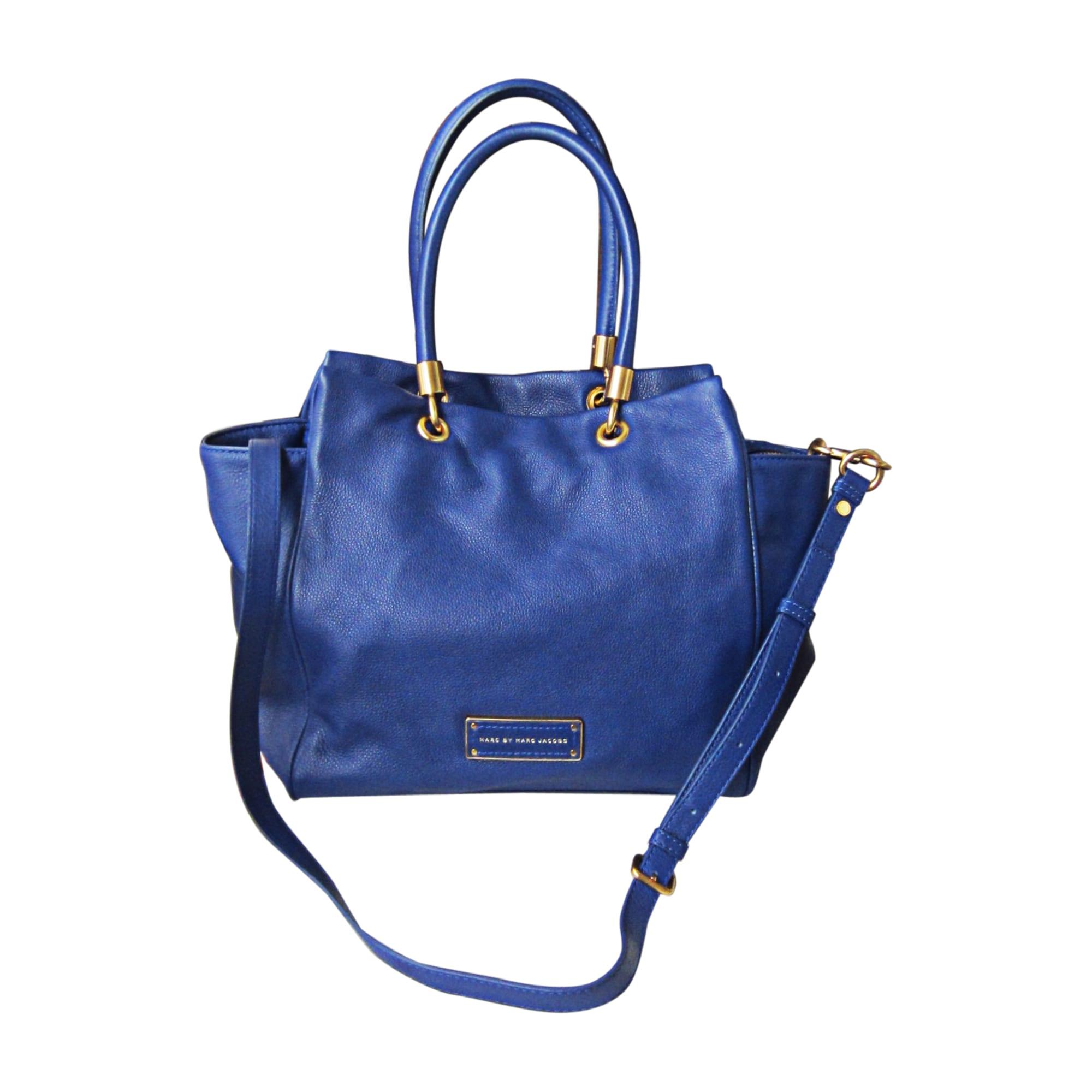 a8f69131b7 Sac à main en cuir MARC JACOBS Bleu, bleu marine, bleu turquoise