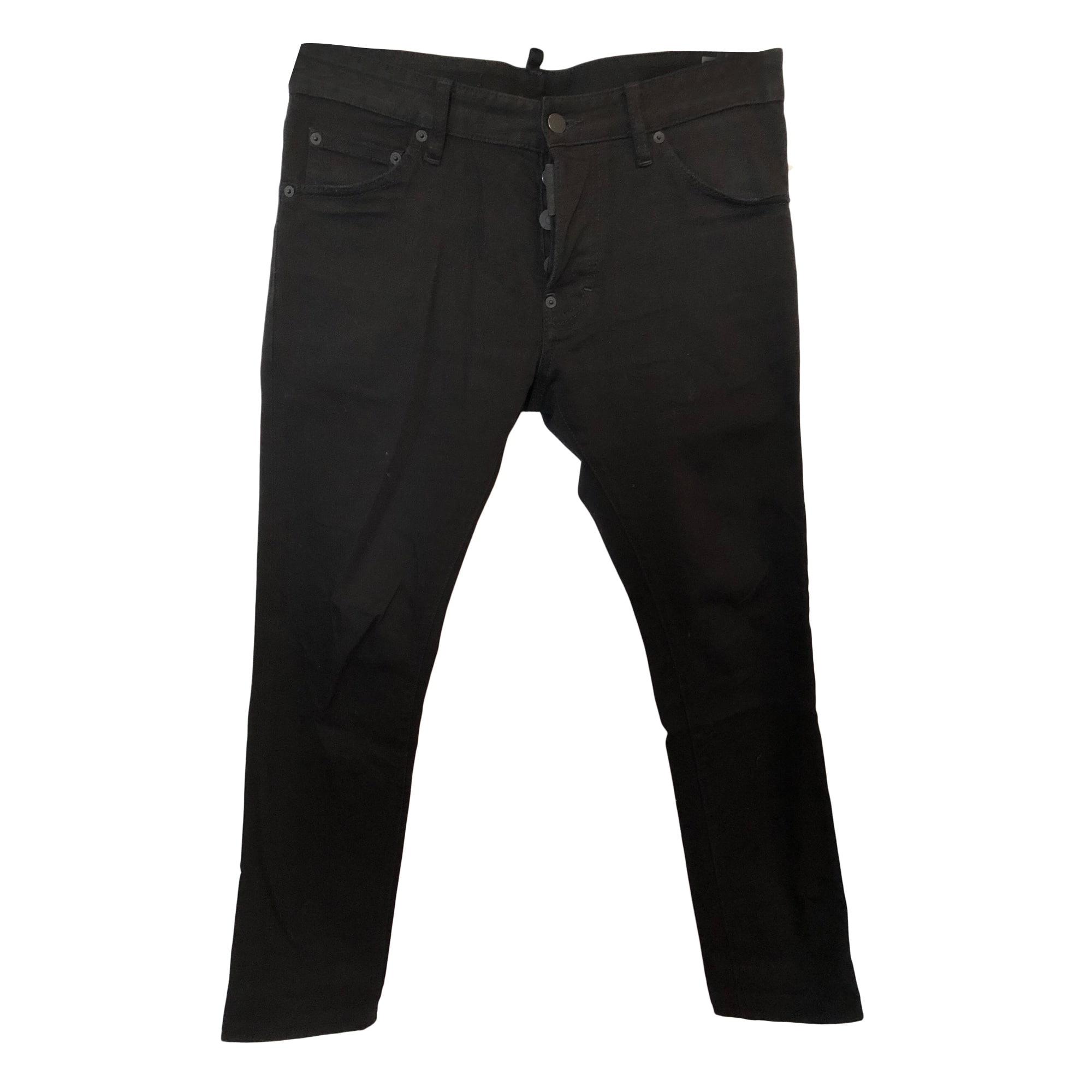 Jeans slim DSQUARED Autre noir vendu par Duo-luxe - 7513675 2b0db7d54d4