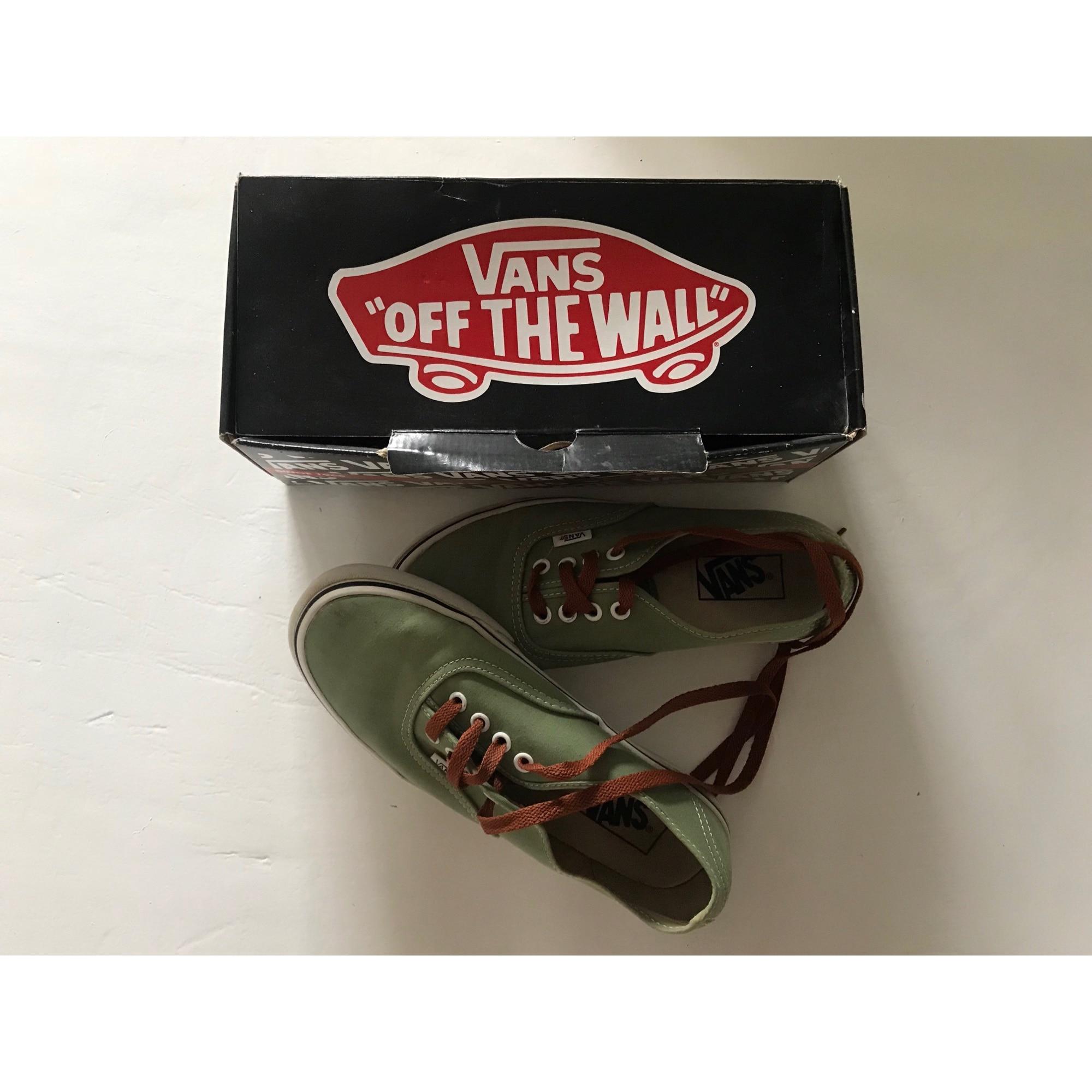 Vans Chaussures 37 7516066 Lacets À Vert 3jcLqR54AS