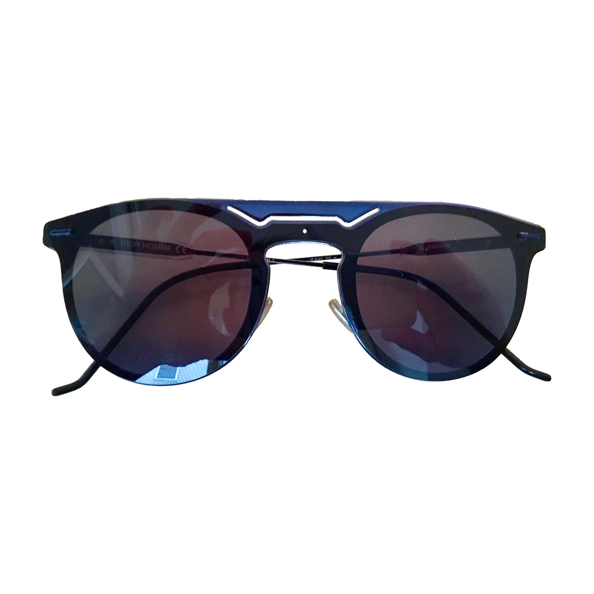 ba25e72b43dc Lunettes de soleil DIOR HOMME Bleu, bleu marine, bleu turquoise