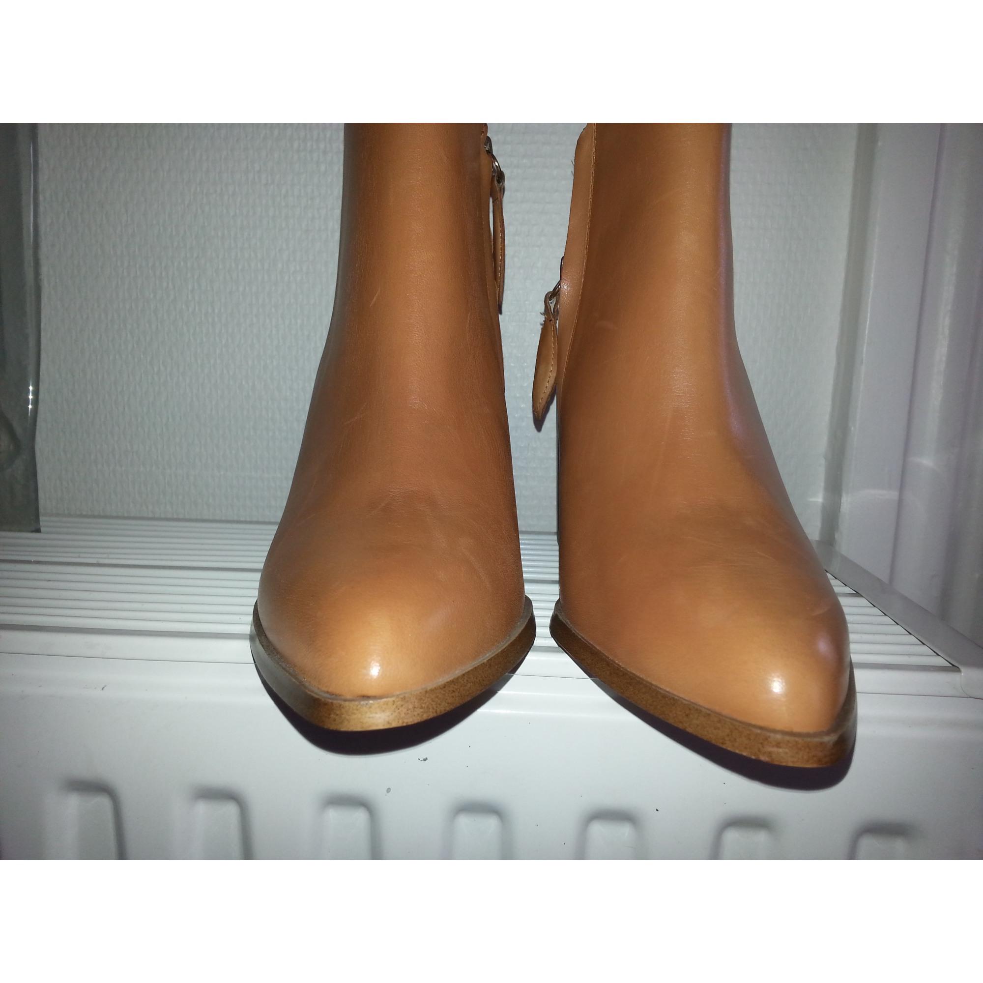 Par Vendu Gauthiere Beige Boots 3 Low Mango Bottines amp; Talons 37 À qZngzfg8