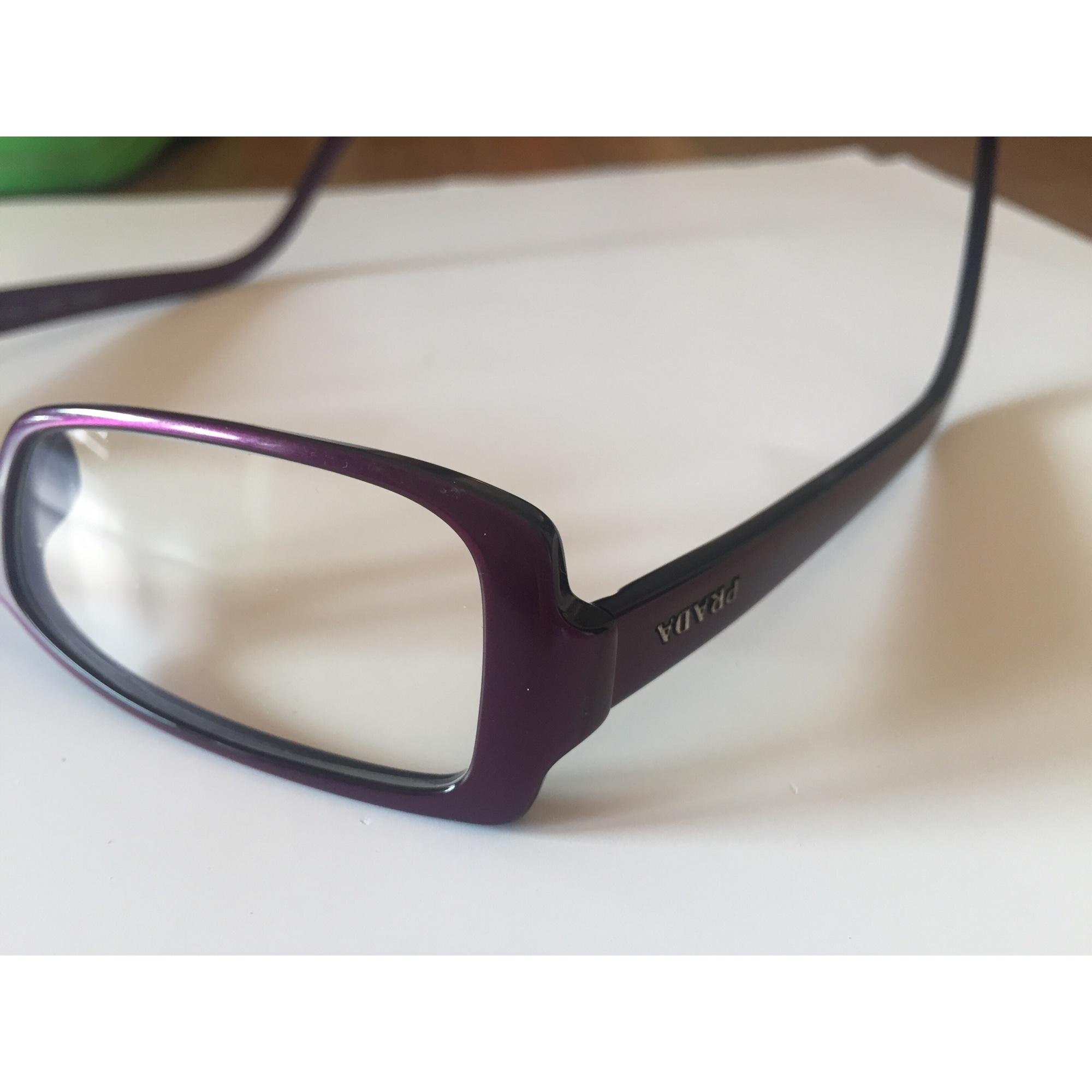 f9af81629bff0 Monture de lunettes PRADA violet - 7524979
