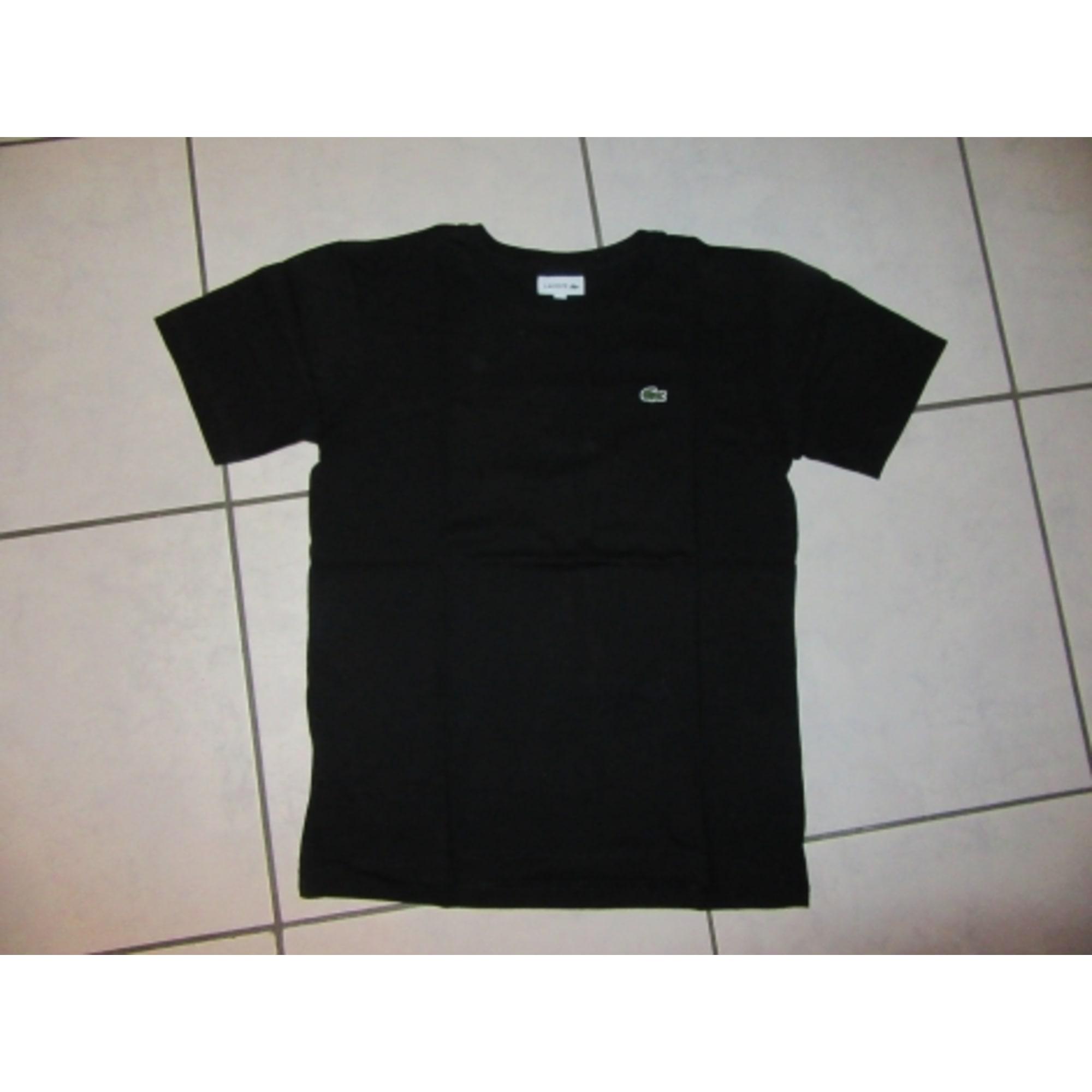 3536b7e7a4 Tee-shirt LACOSTE 11-12 ans noir vendu par Fabienne 136554460 - 7527986