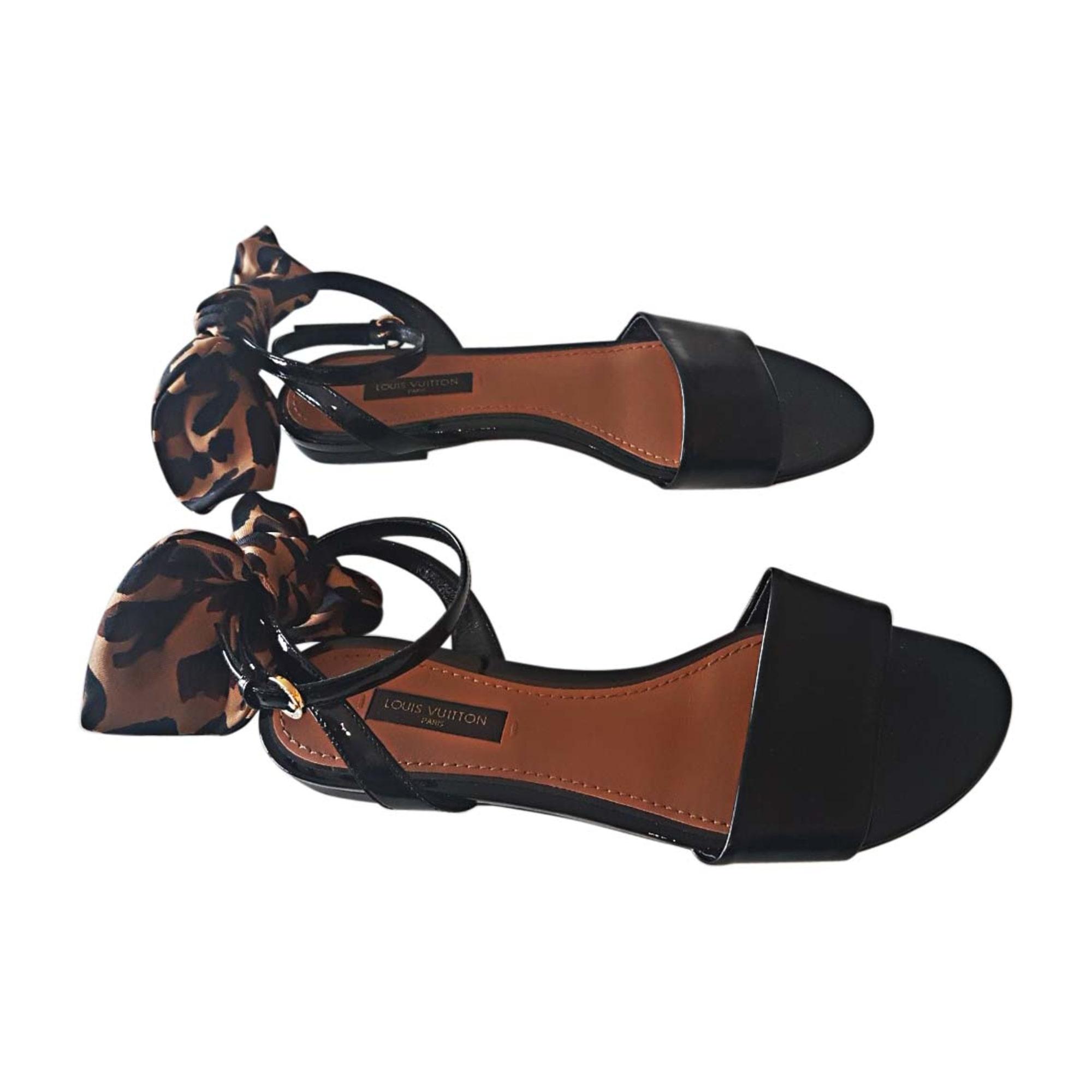 Flat Sandals LOUIS VUITTON Black