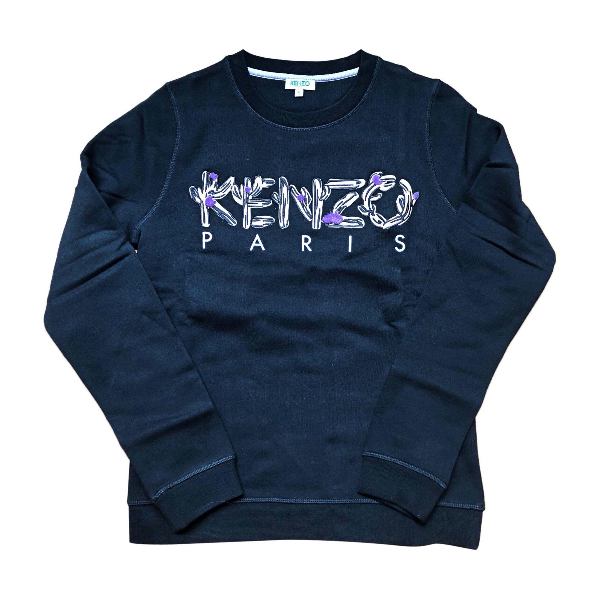 Sweat 7535685 Par Kenzo s T1 Noir 36 Katerinanitekari Vendu pprxqT