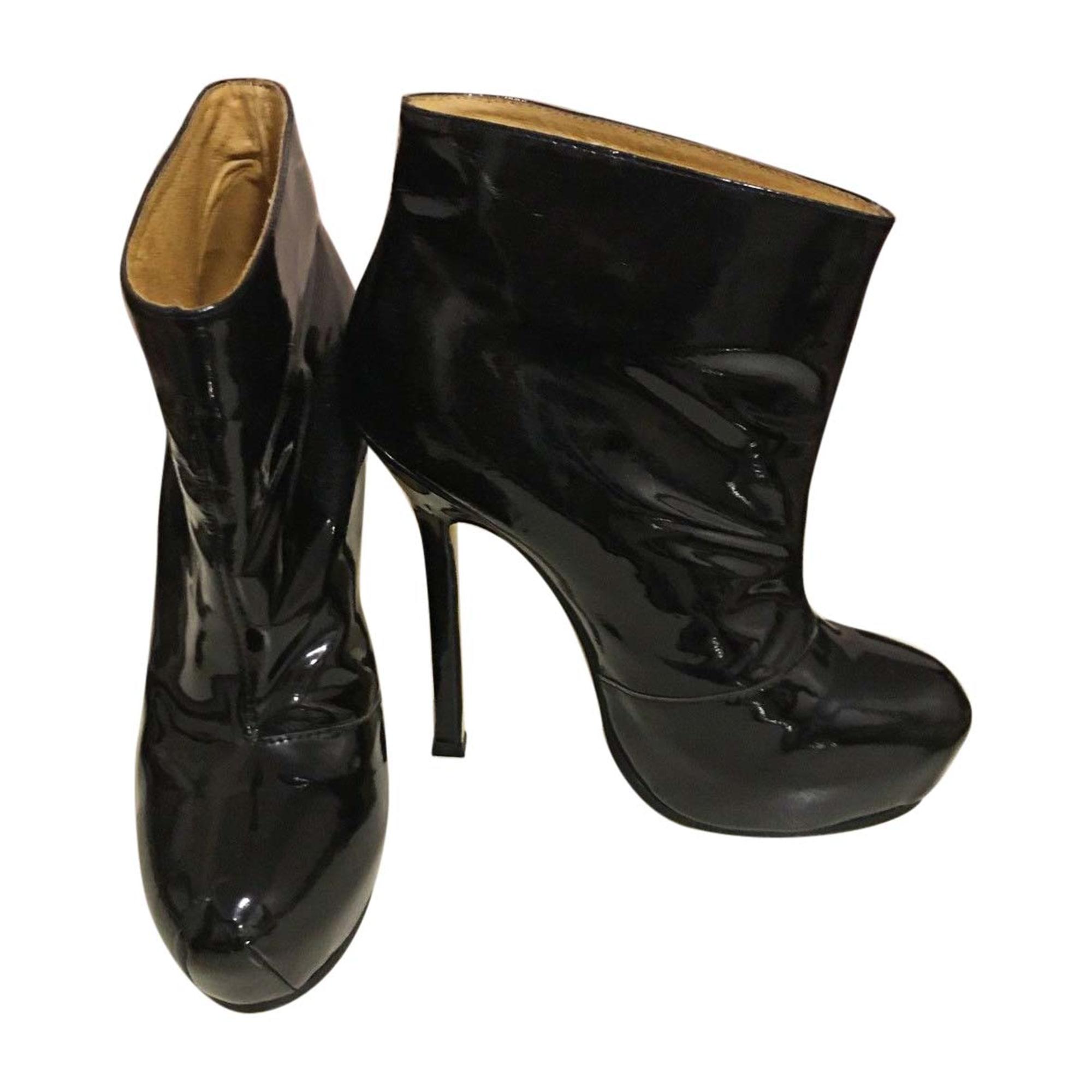 8b61a60caa9 High Heel Ankle Boots YVES SAINT LAURENT