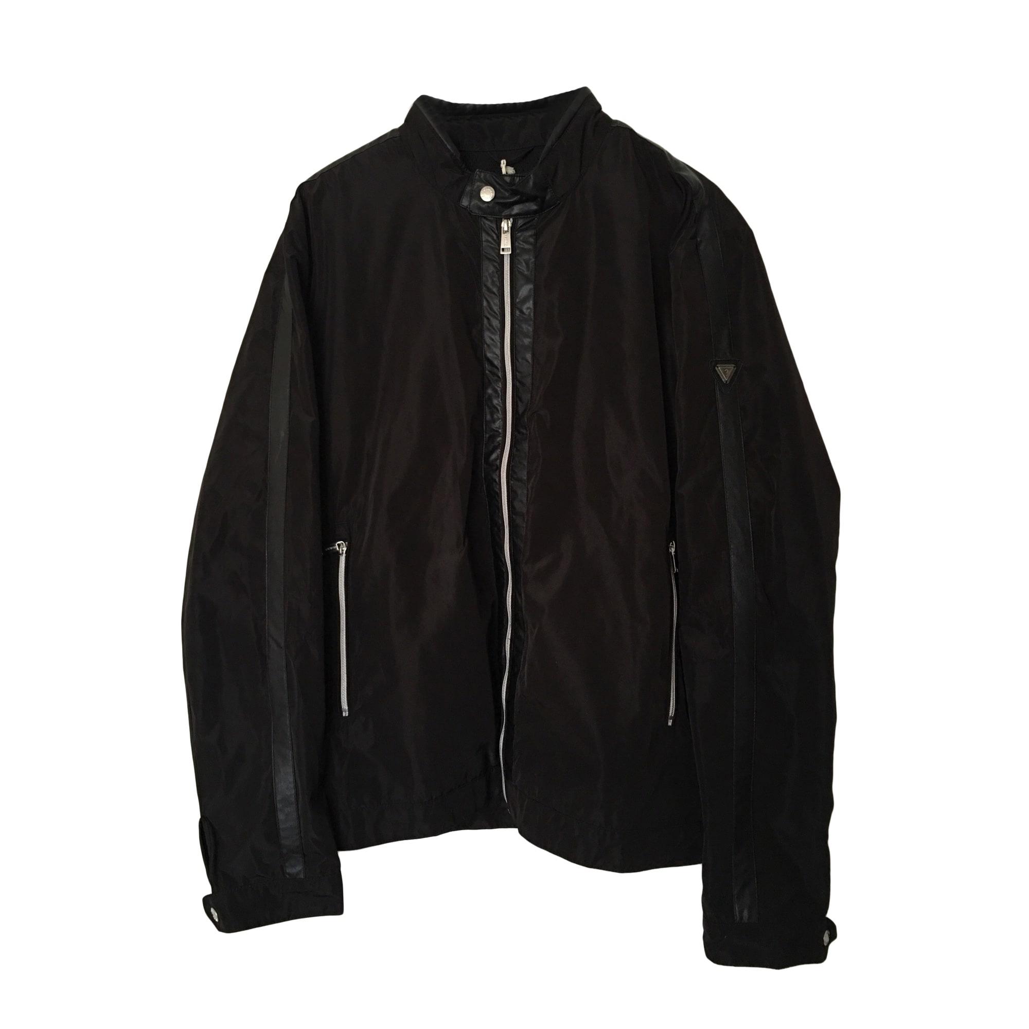 Zipped Jacket GUESS Black