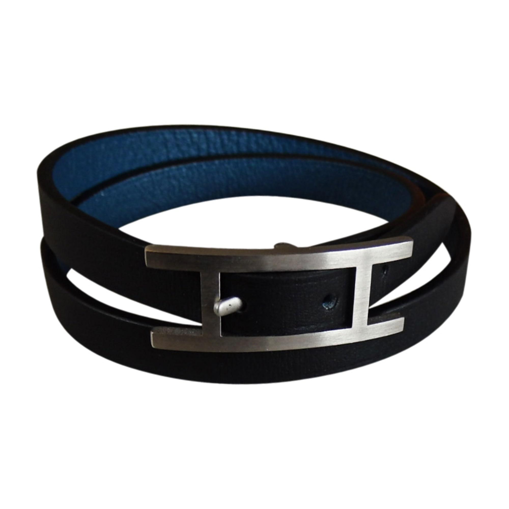 Bracelet HERMÈS hapi noir vendu par F 24060 - 7549414 c2ae826b29e