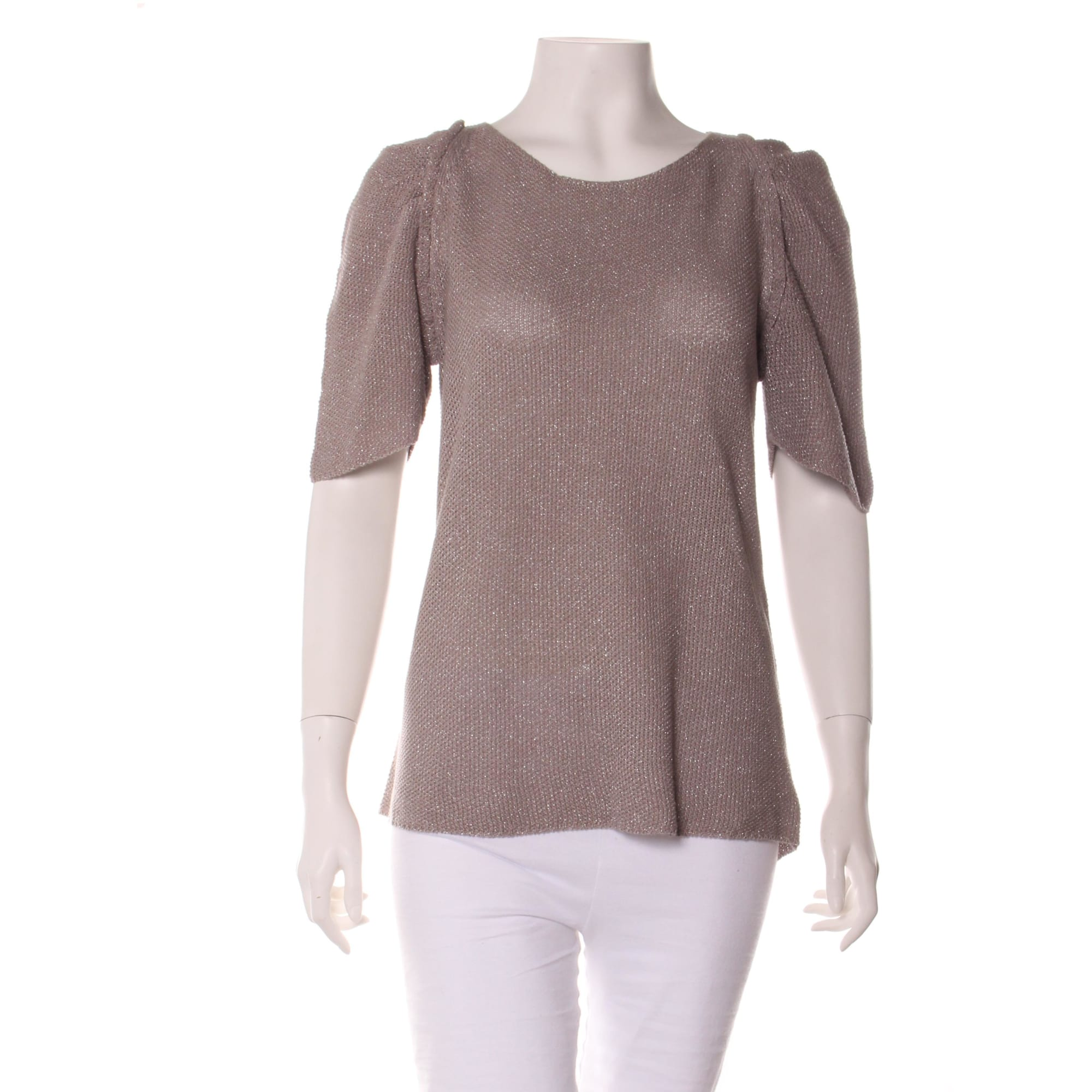 Maje Top, tee-shirt lin 40 (L, T3)