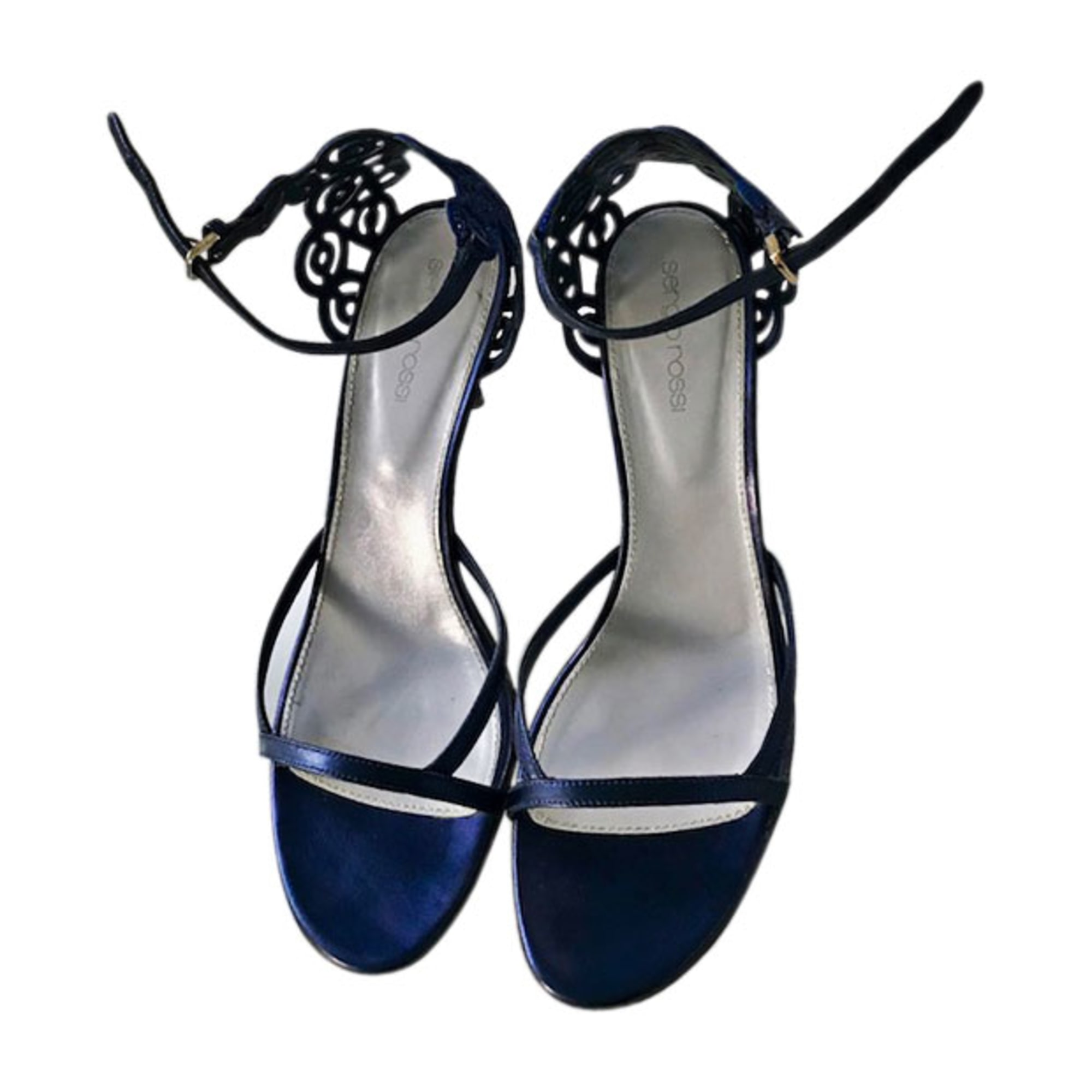 Heeled Sandals SERGIO ROSSI Blue, navy, turquoise